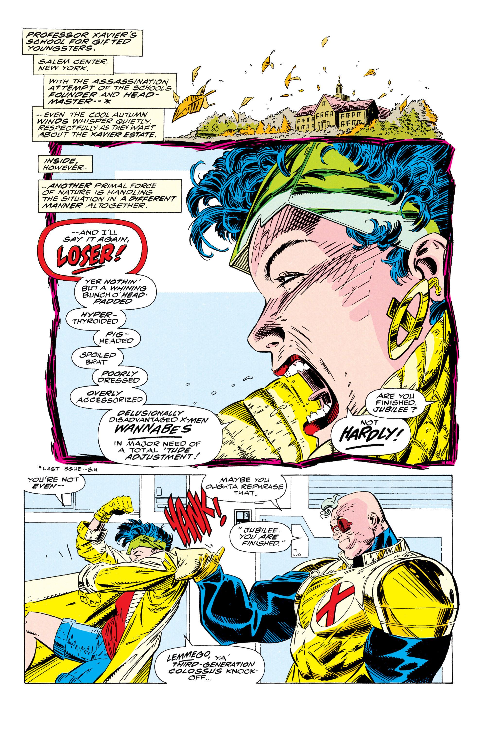 Read online Uncanny X-Men (1963) comic -  Issue #295 - 5