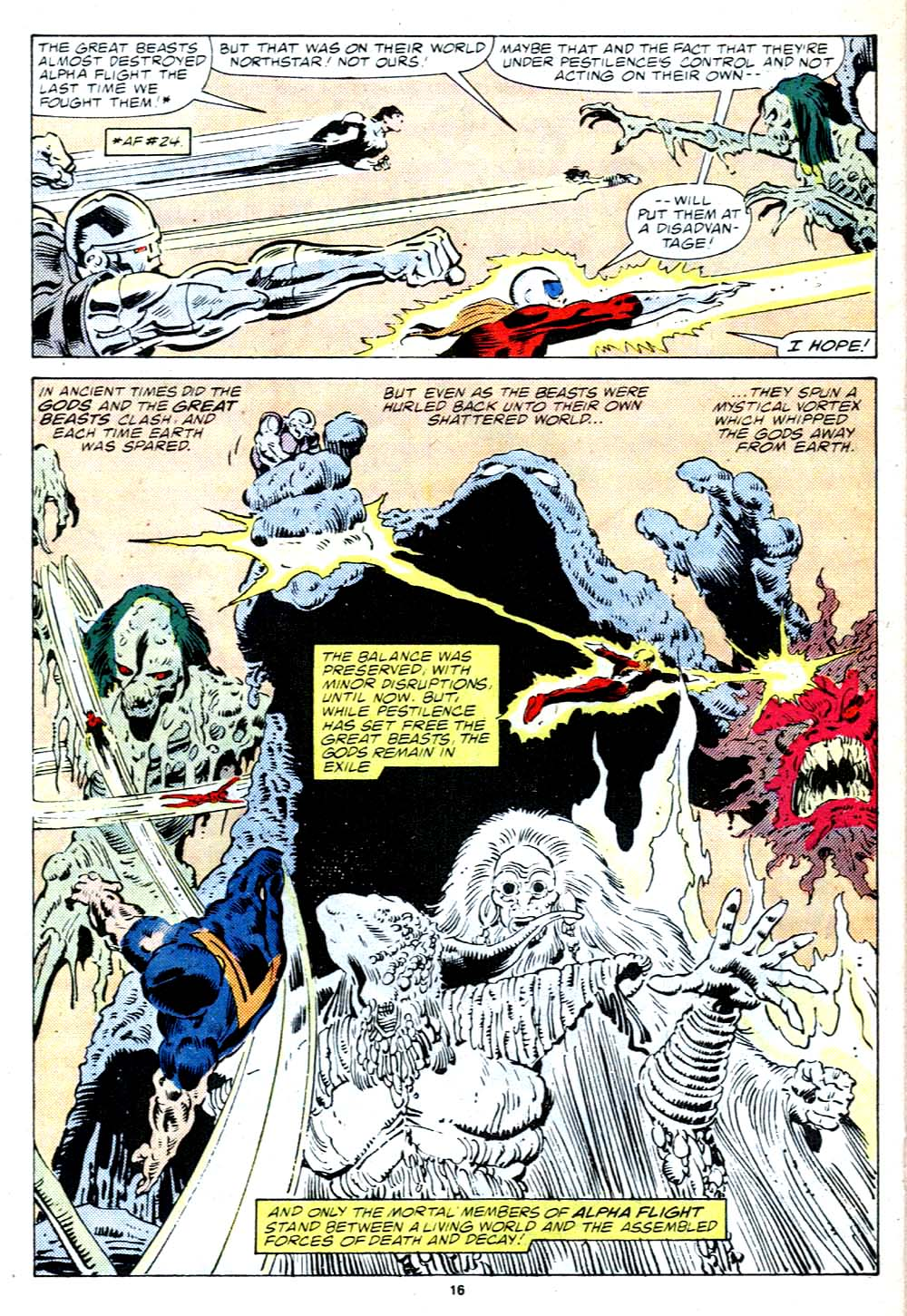 Read online Alpha Flight (1983) comic -  Issue #38 - 17