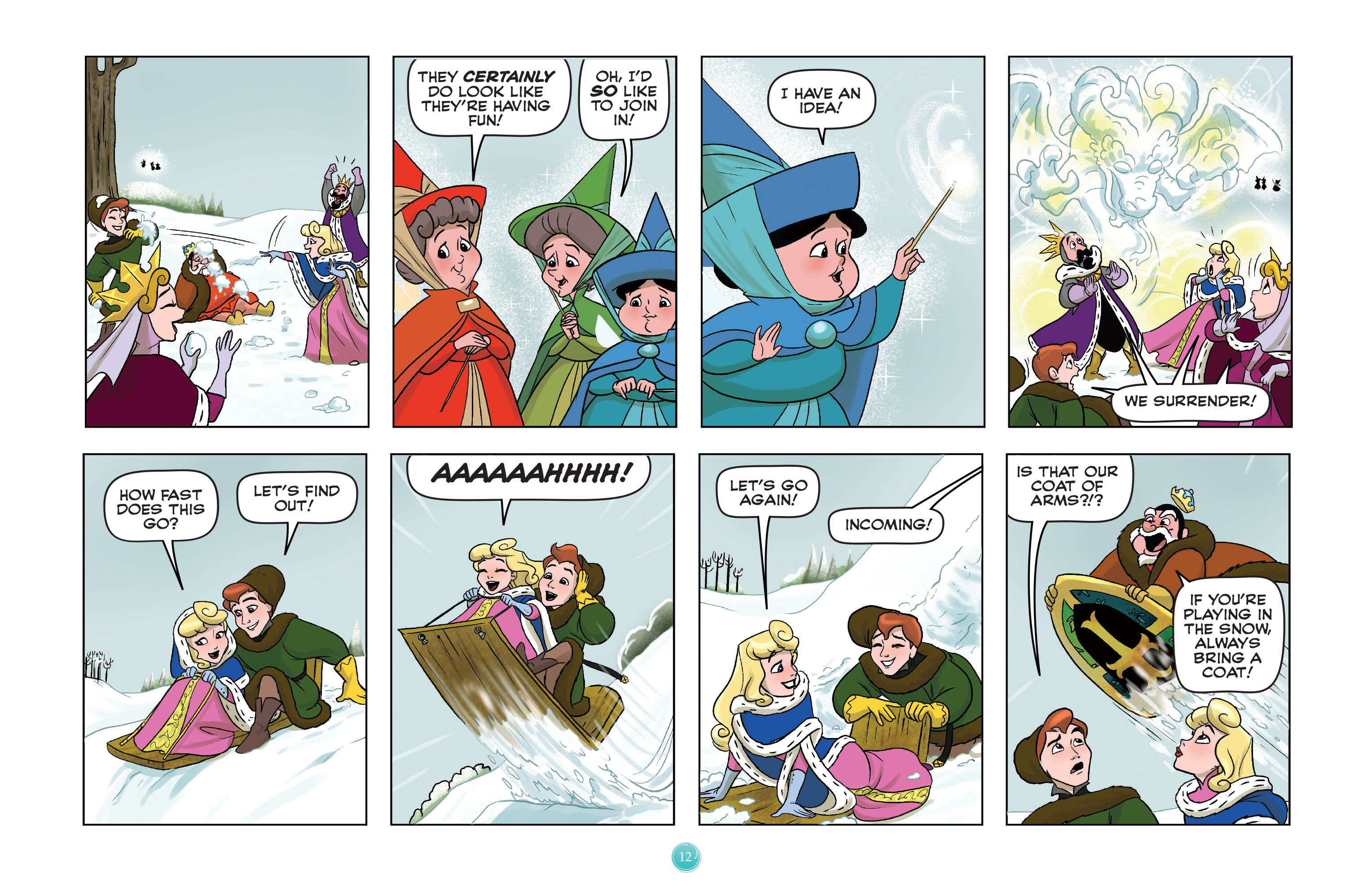 Read online Disney Princess comic -  Issue #7 - 15