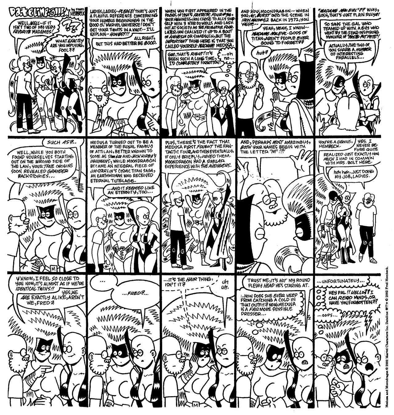 Read online The Nearly Complete Essential Hembeck Archives Omnibus comic -  Issue # TPB (Part 8) - 67