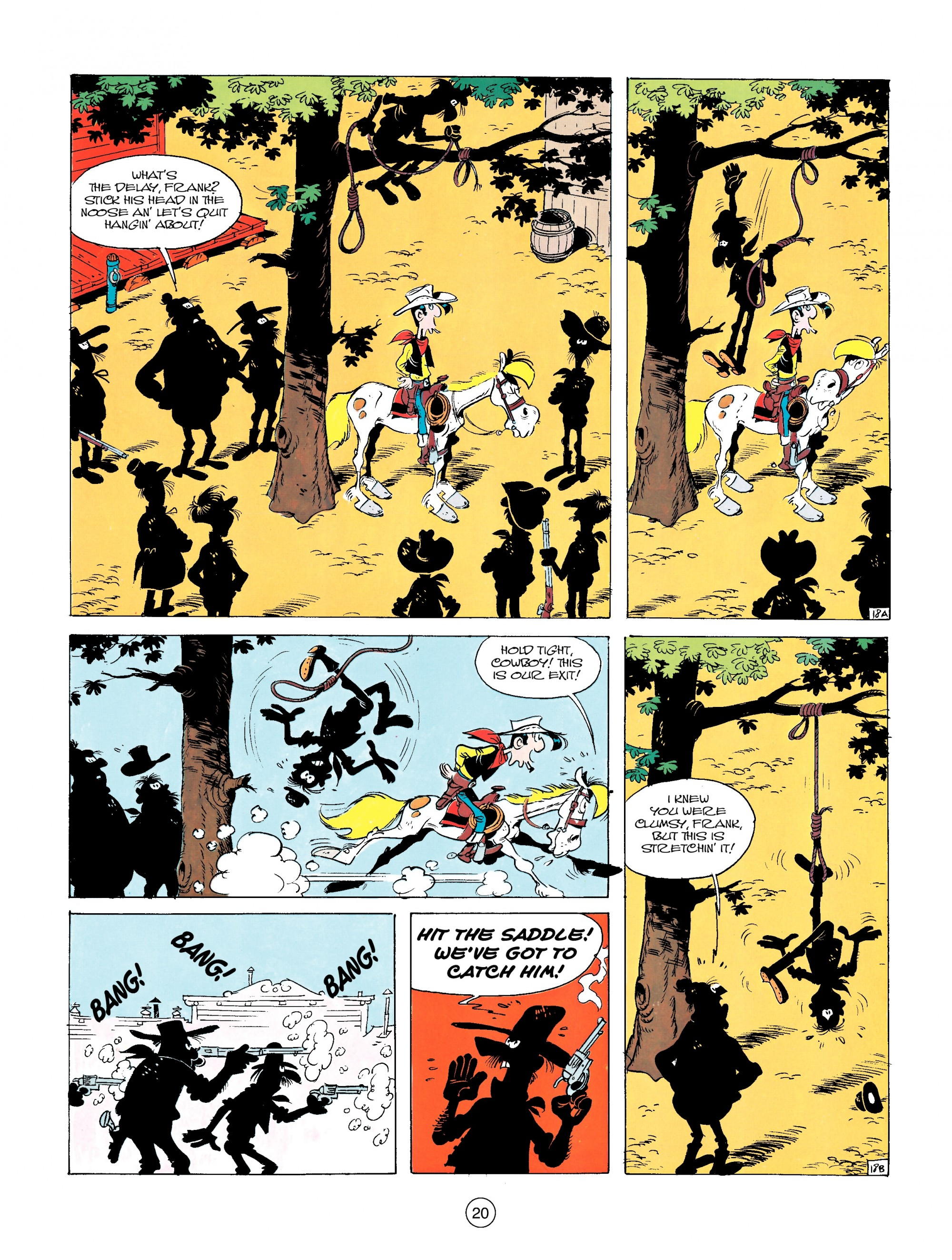 Read online A Lucky Luke Adventure comic -  Issue #14 - 20