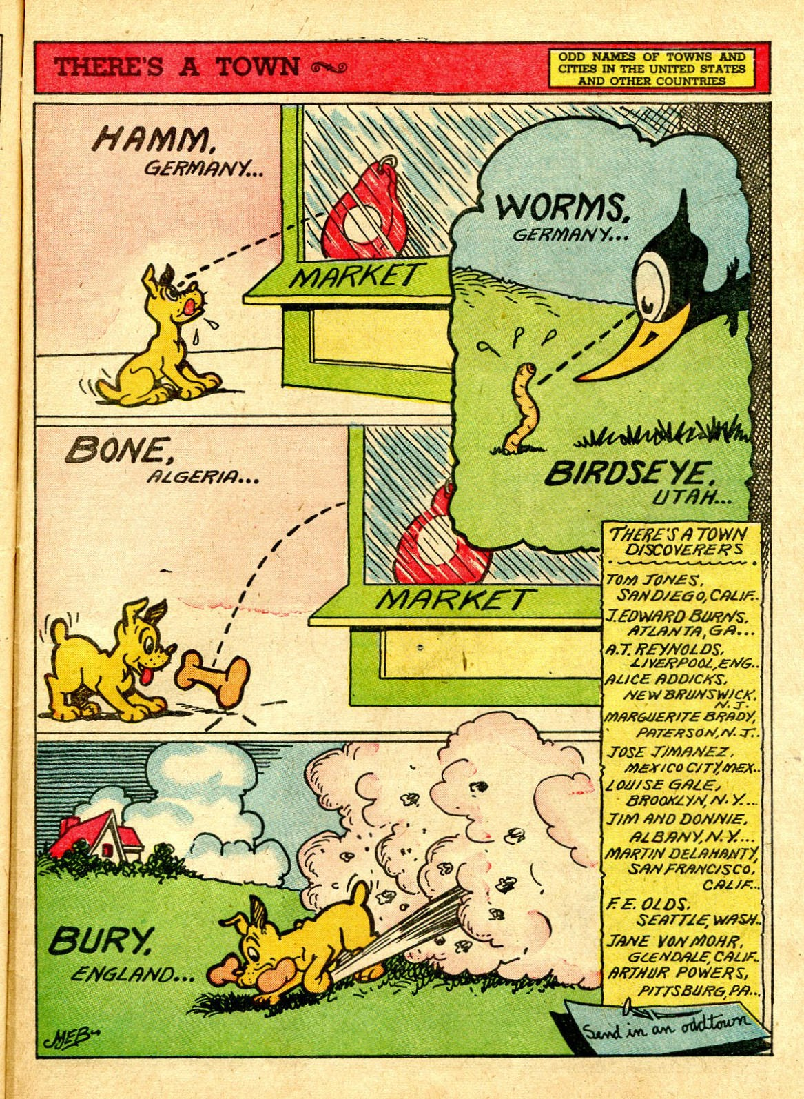 Read online Famous Funnies comic -  Issue #63 - 52