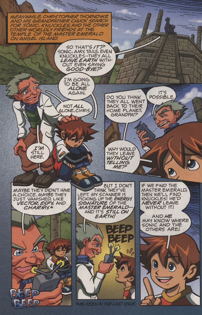 Read online Sonic X comic -  Issue #11 - 6