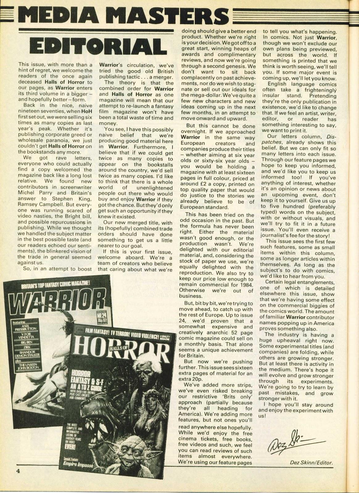 Warrior Issue #25 #26 - English 4