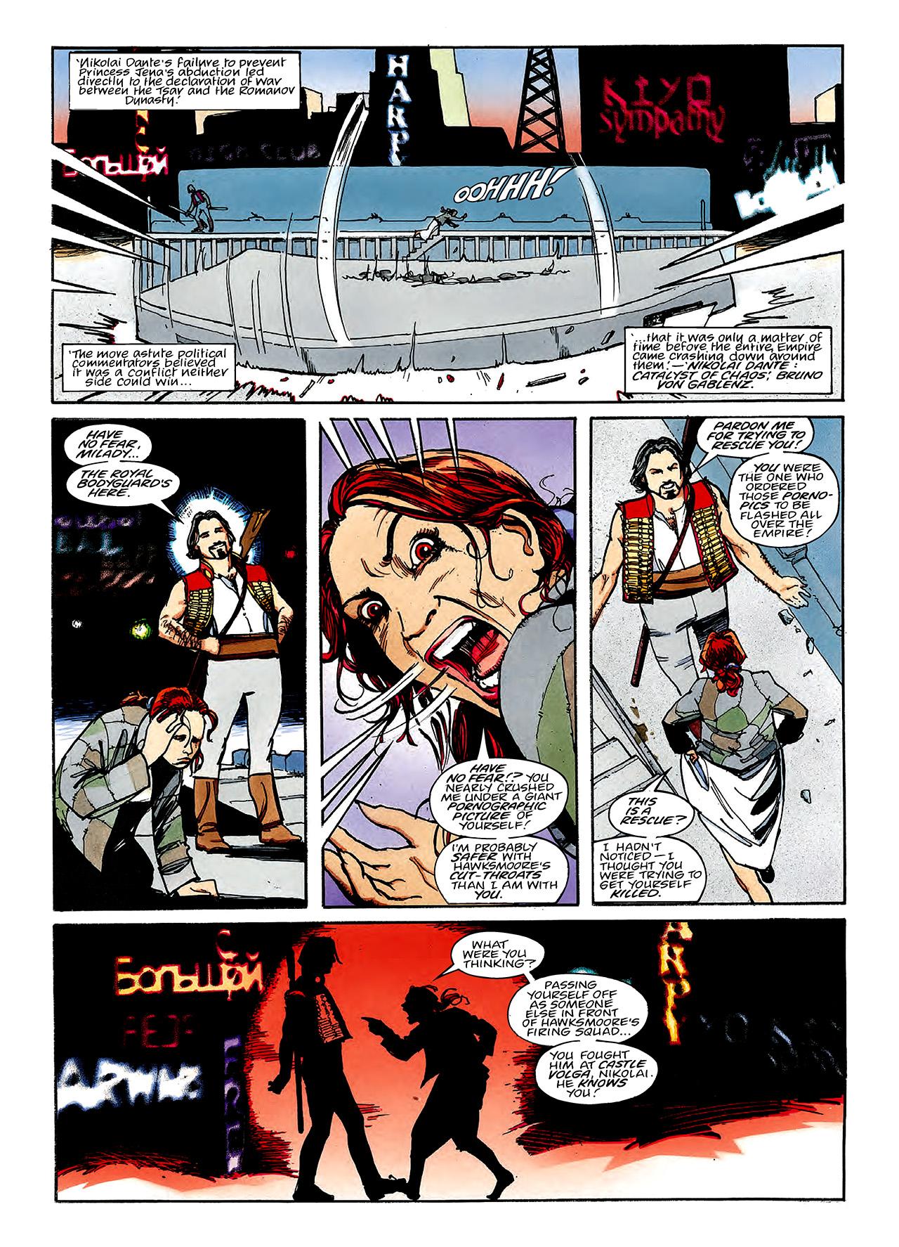 Read online Nikolai Dante comic -  Issue # TPB 3 - 106