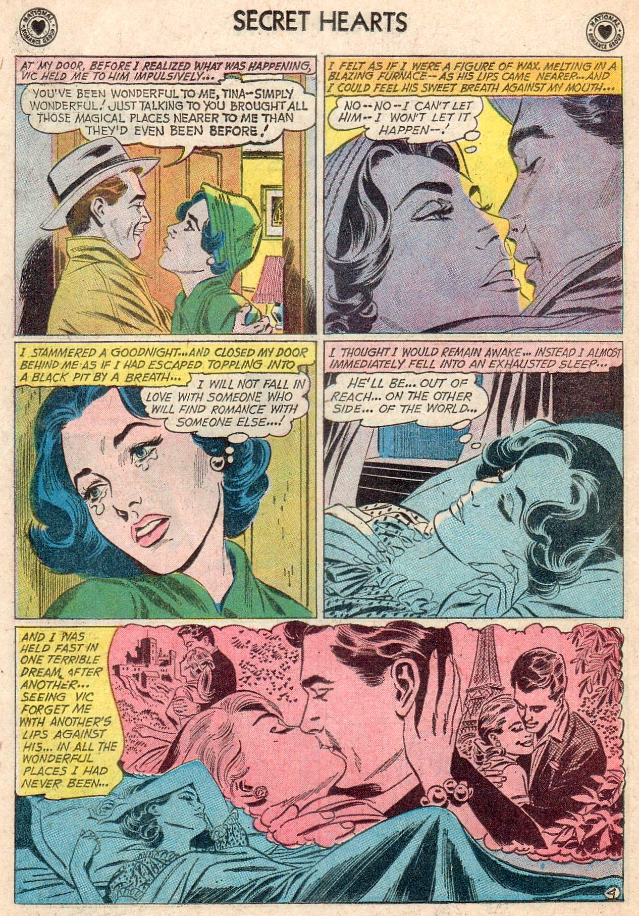 Read online Secret Hearts comic -  Issue #67 - 6