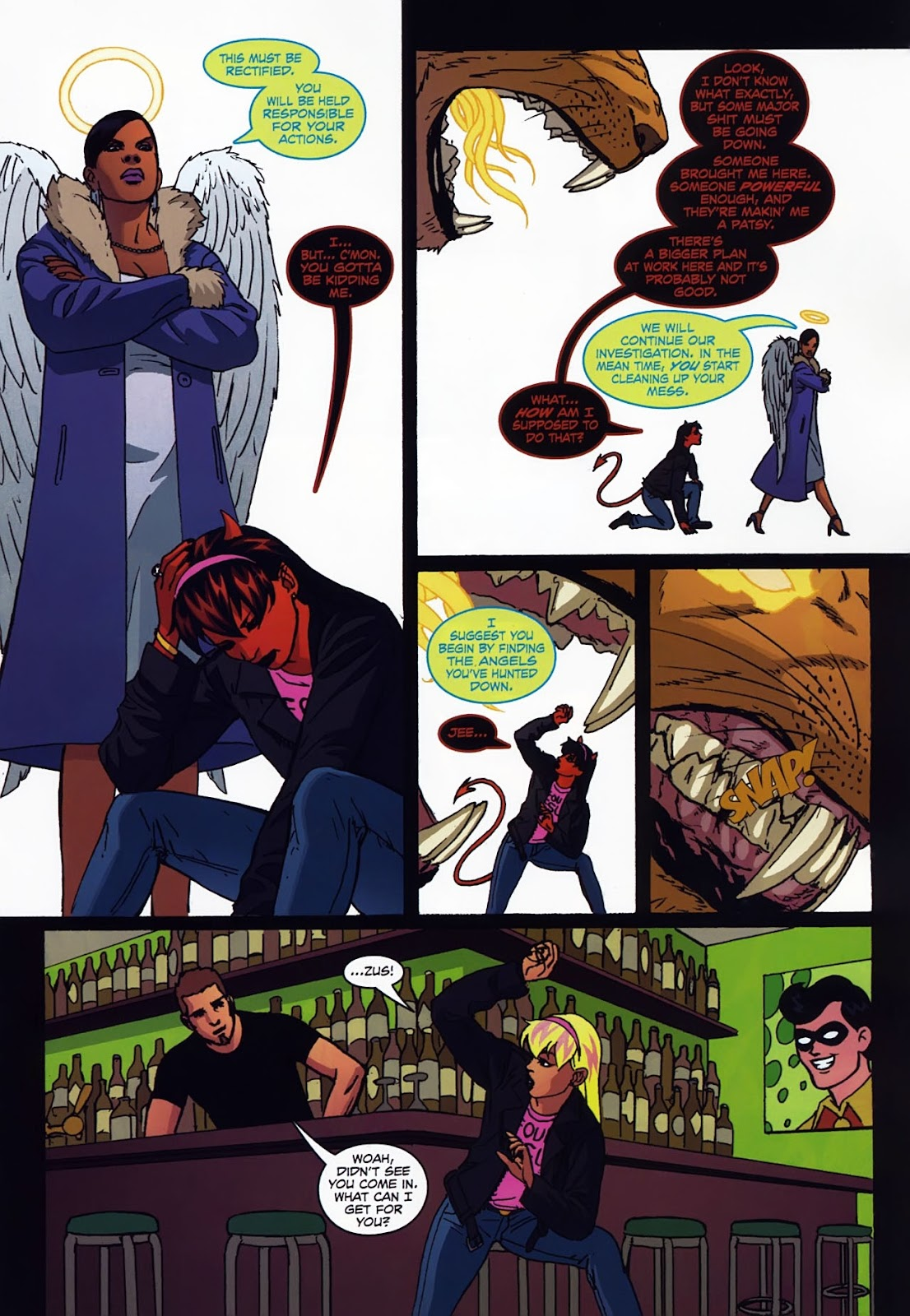 Read online Mercy Sparx (2008) comic -  Issue #3 - 11
