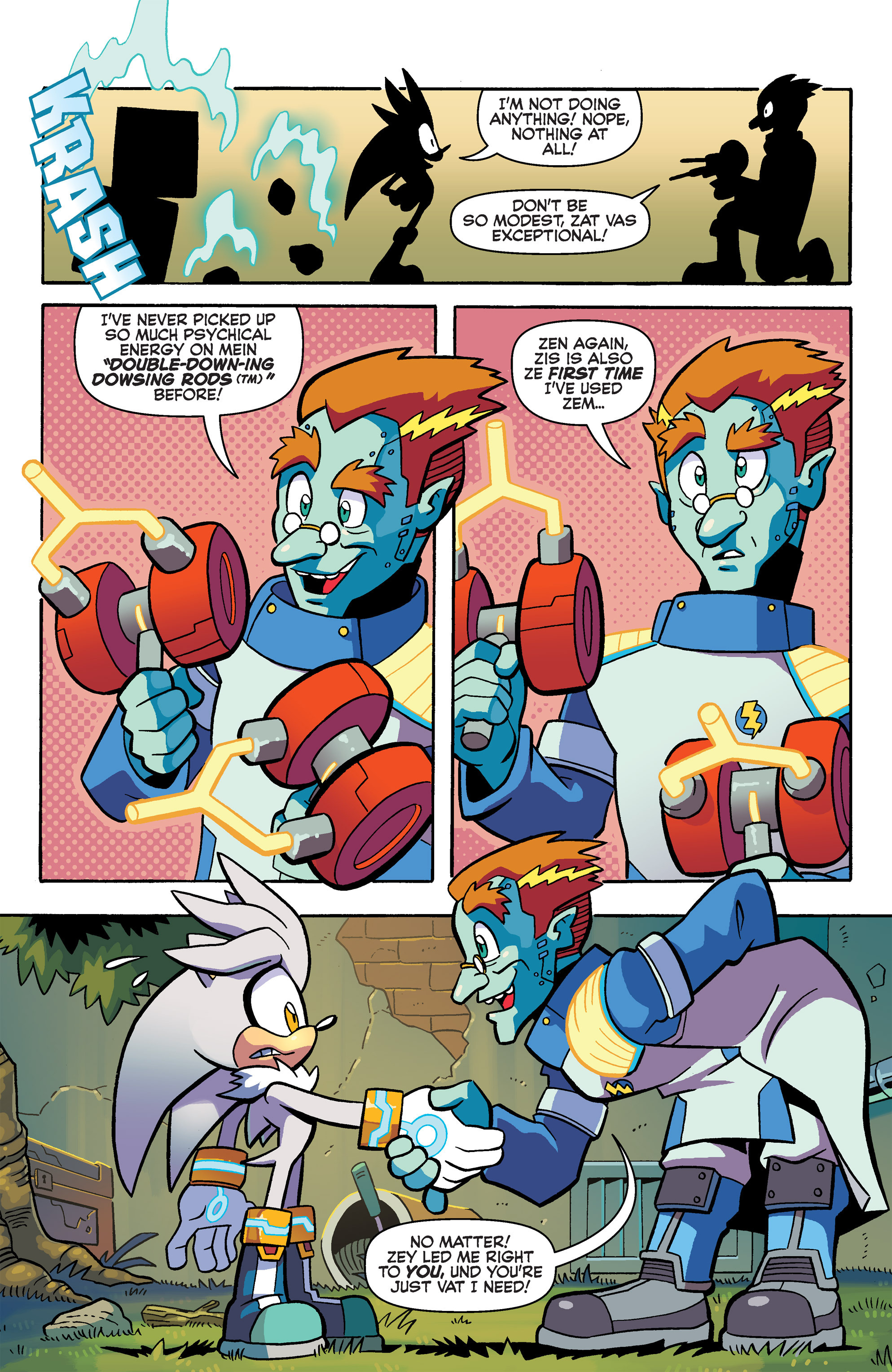 Read online Sonic Universe comic -  Issue #79 - 10