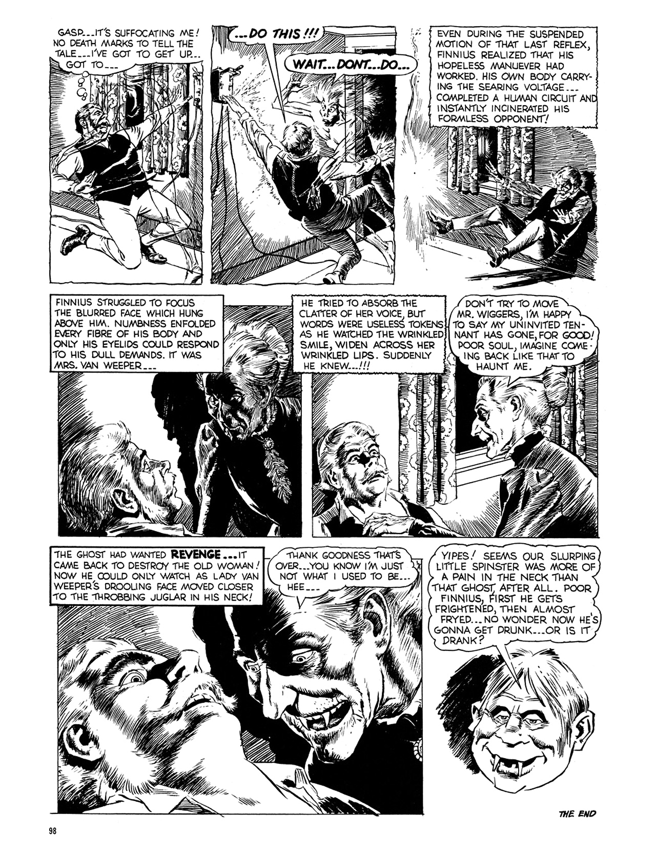Read online Eerie Archives comic -  Issue # TPB 5 - 99