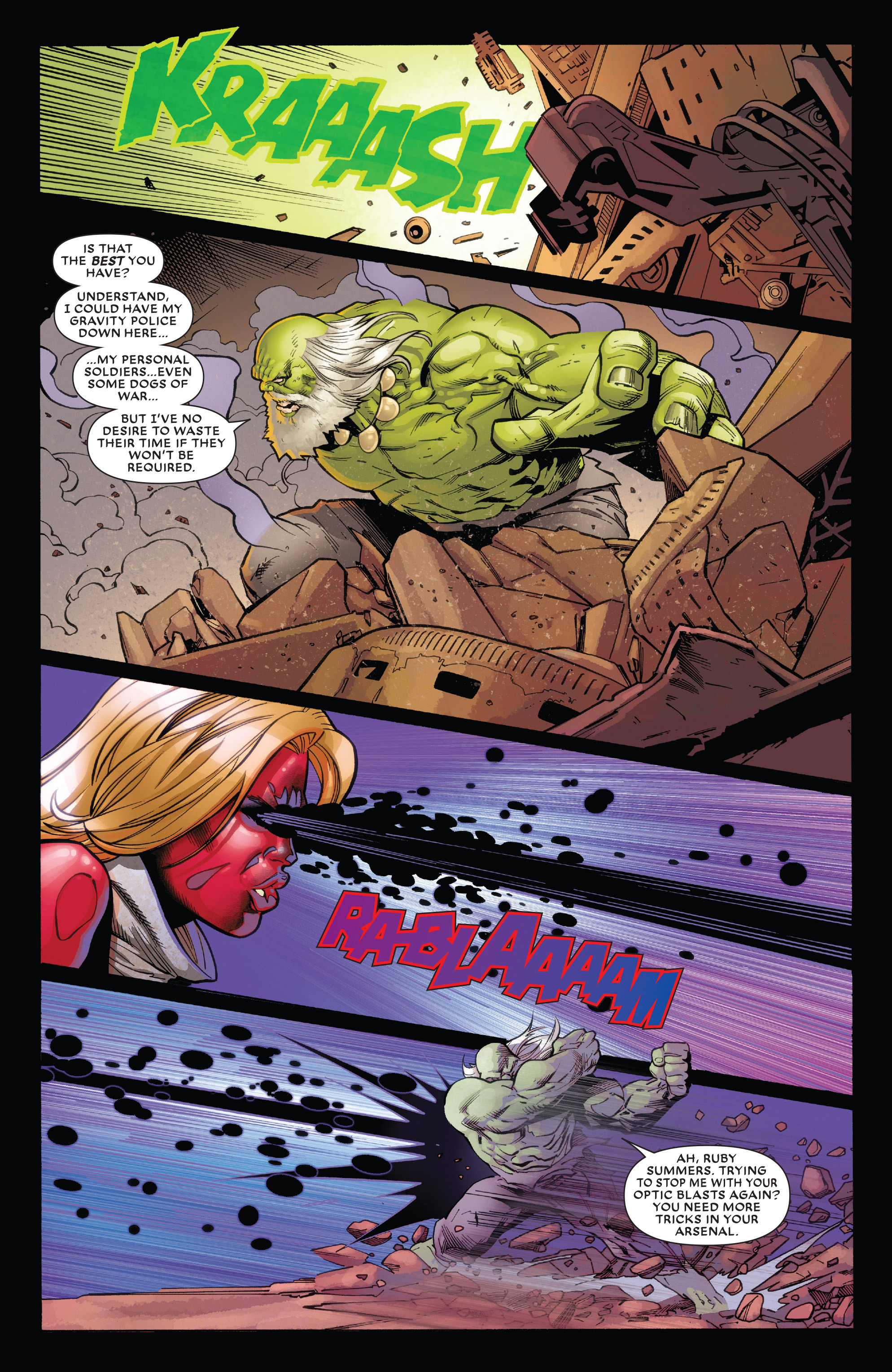 Read online Future Imperfect comic -  Issue #1 - 16