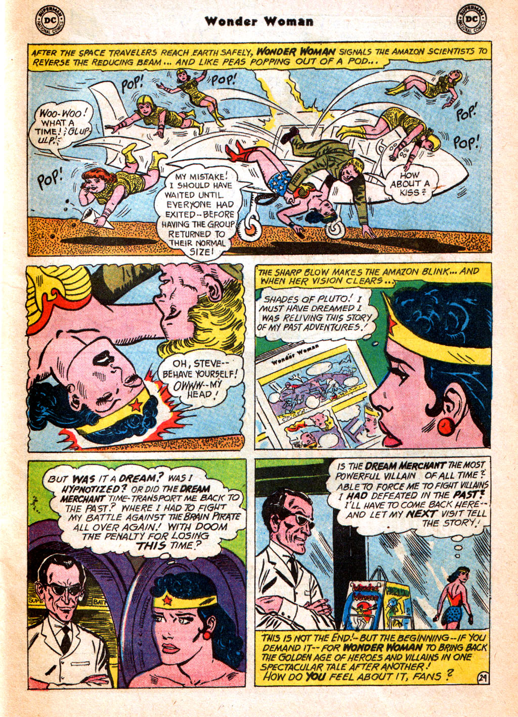 Read online Wonder Woman (1942) comic -  Issue #156 - 33