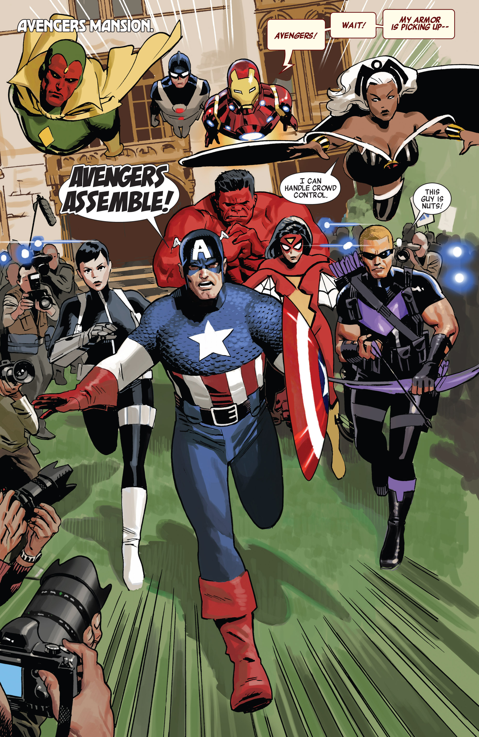 Read online Avengers (2010) comic -  Issue #20 - 4