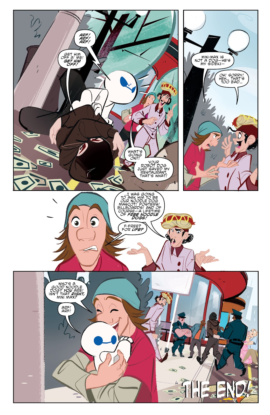 Read online Big Hero 6: The Series comic -  Issue #1 - 22