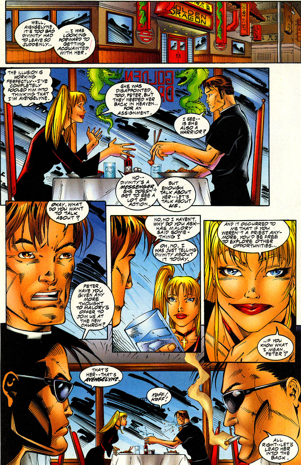 Read online Avengelyne (1996) comic -  Issue #6 - 18