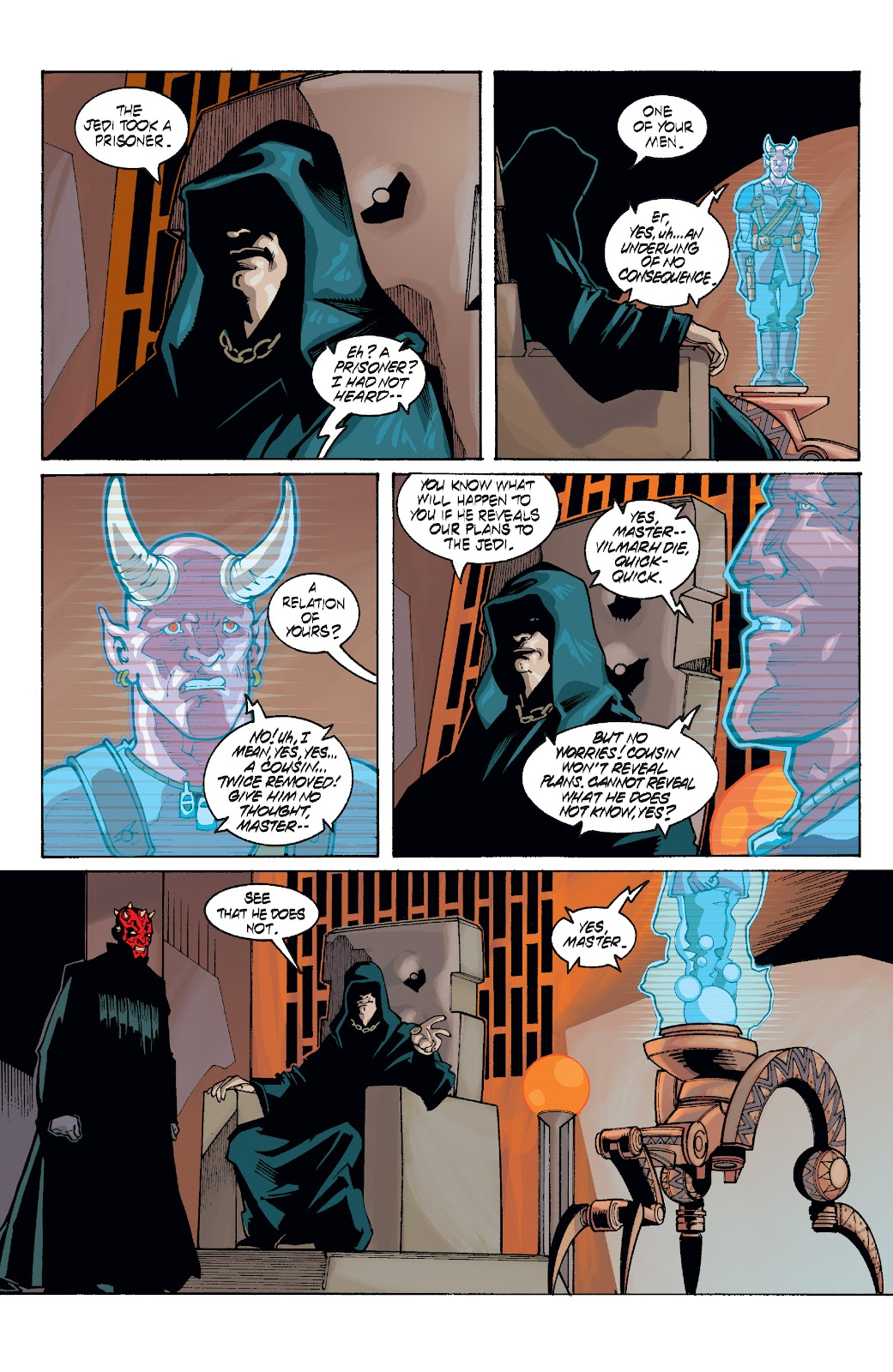 Read online Star Wars Legends: Rise of the Sith - Epic Collection comic -  Issue # TPB 1 (Part 5) - 26