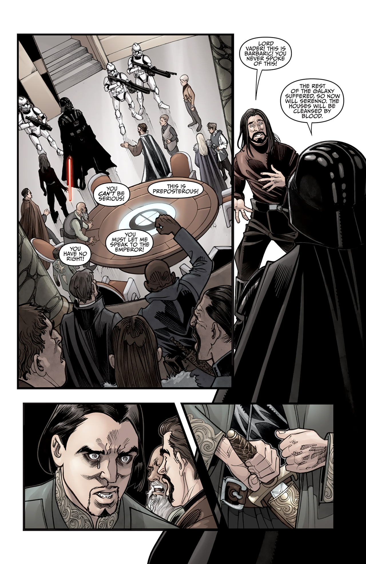 Read online Star Wars: Agent Of The Empire - Hard Targets comic -  Issue #2 - 11