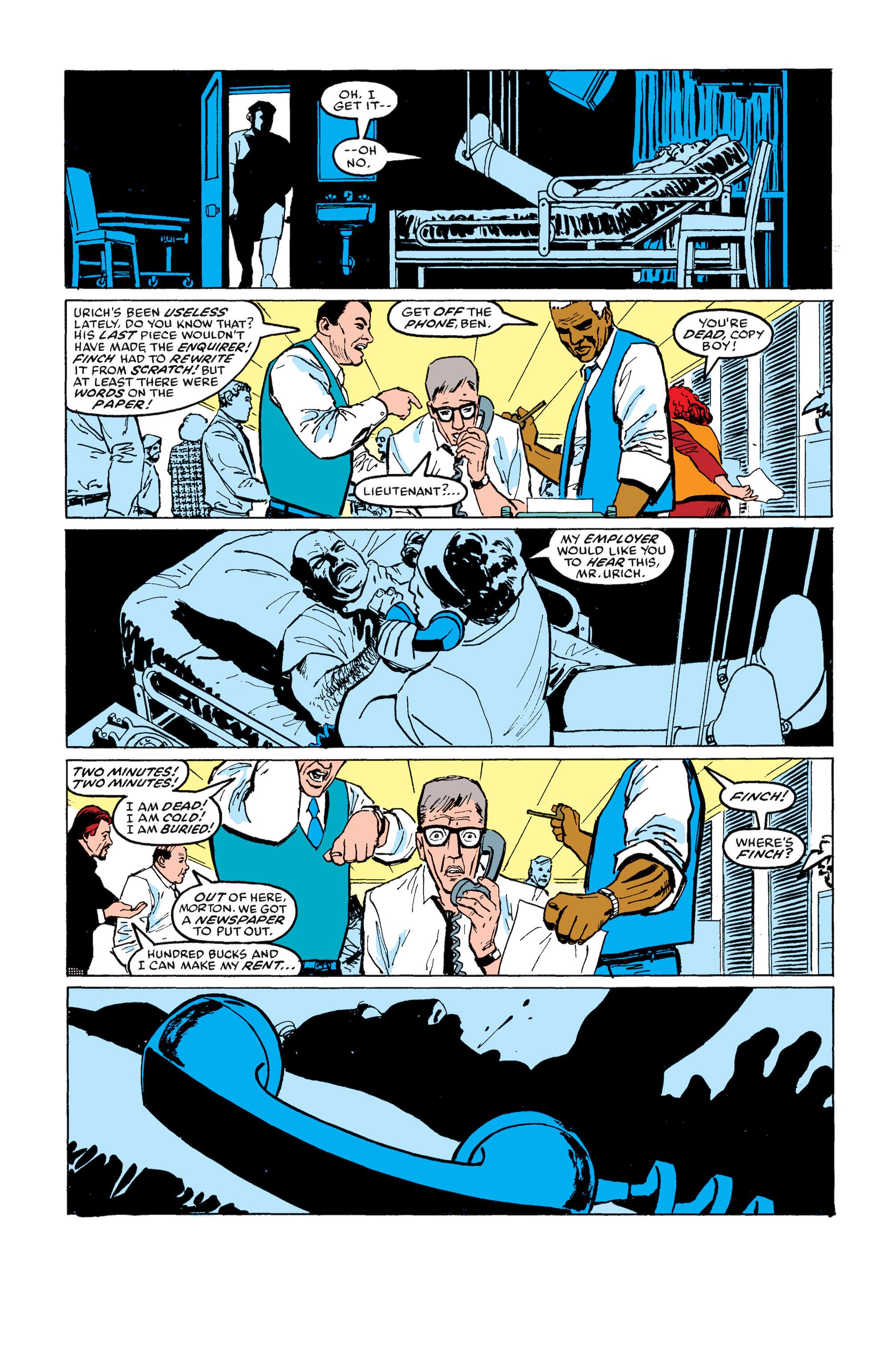 Read online Daredevil: Born Again comic -  Issue # Full - 112
