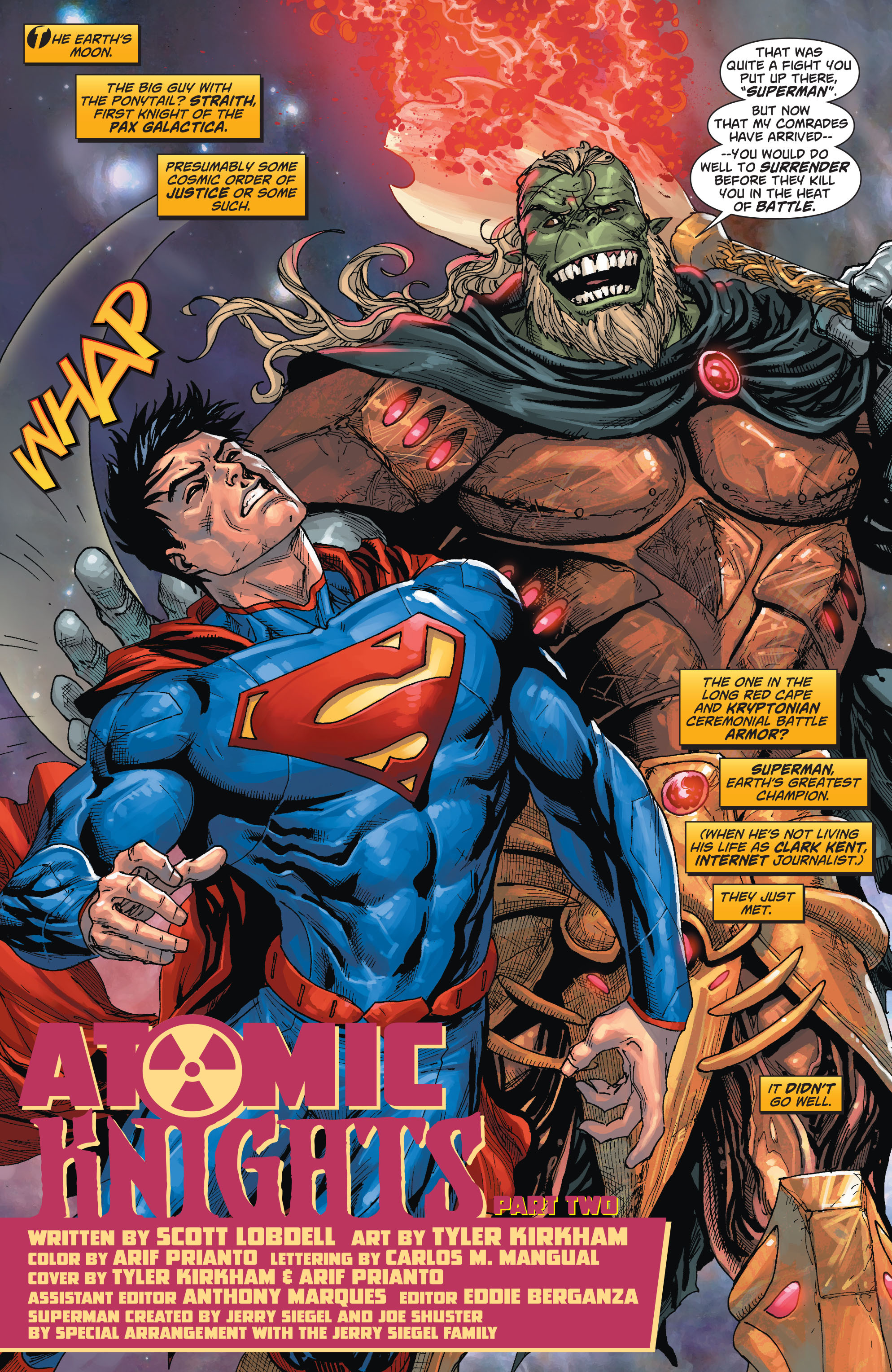 Read online Action Comics (2011) comic -  Issue #23 - 3