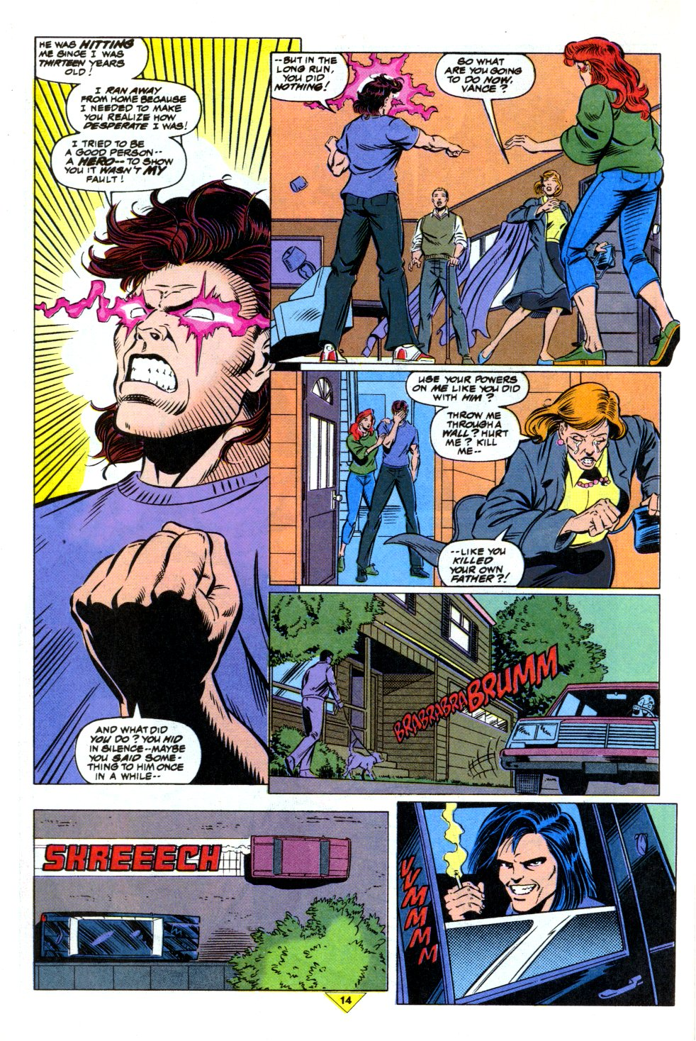The New Warriors Issue #43 #47 - English 12
