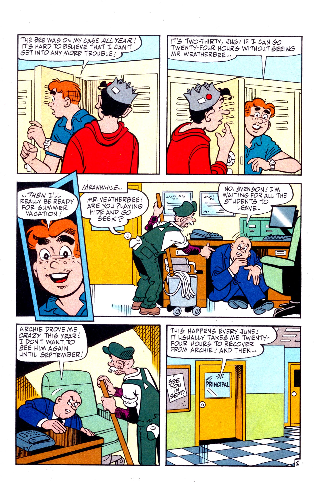Read online Archie (1960) comic -  Issue #575 - 3