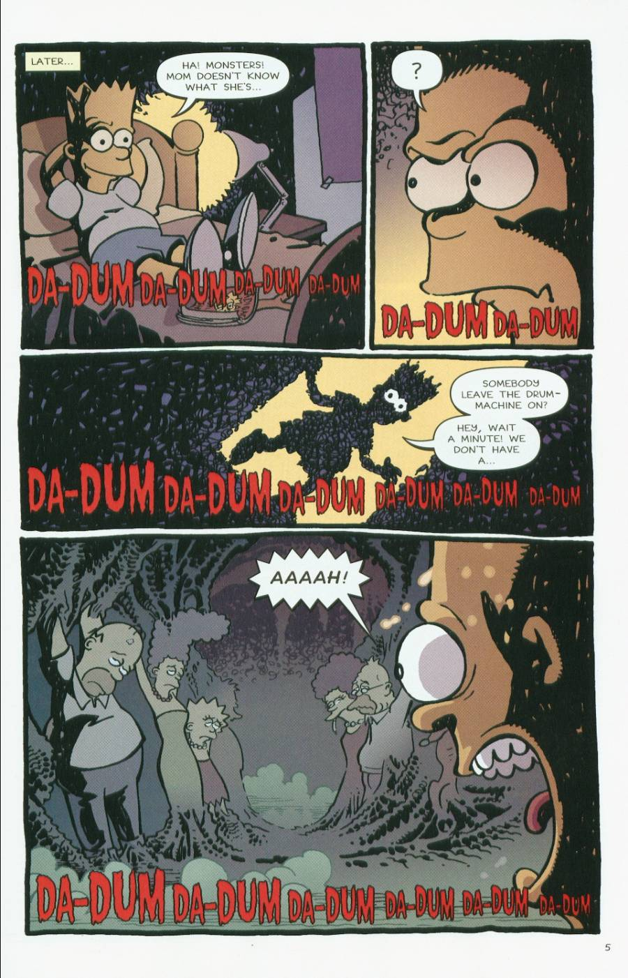 Read online Treehouse of Horror comic -  Issue #7 - 6