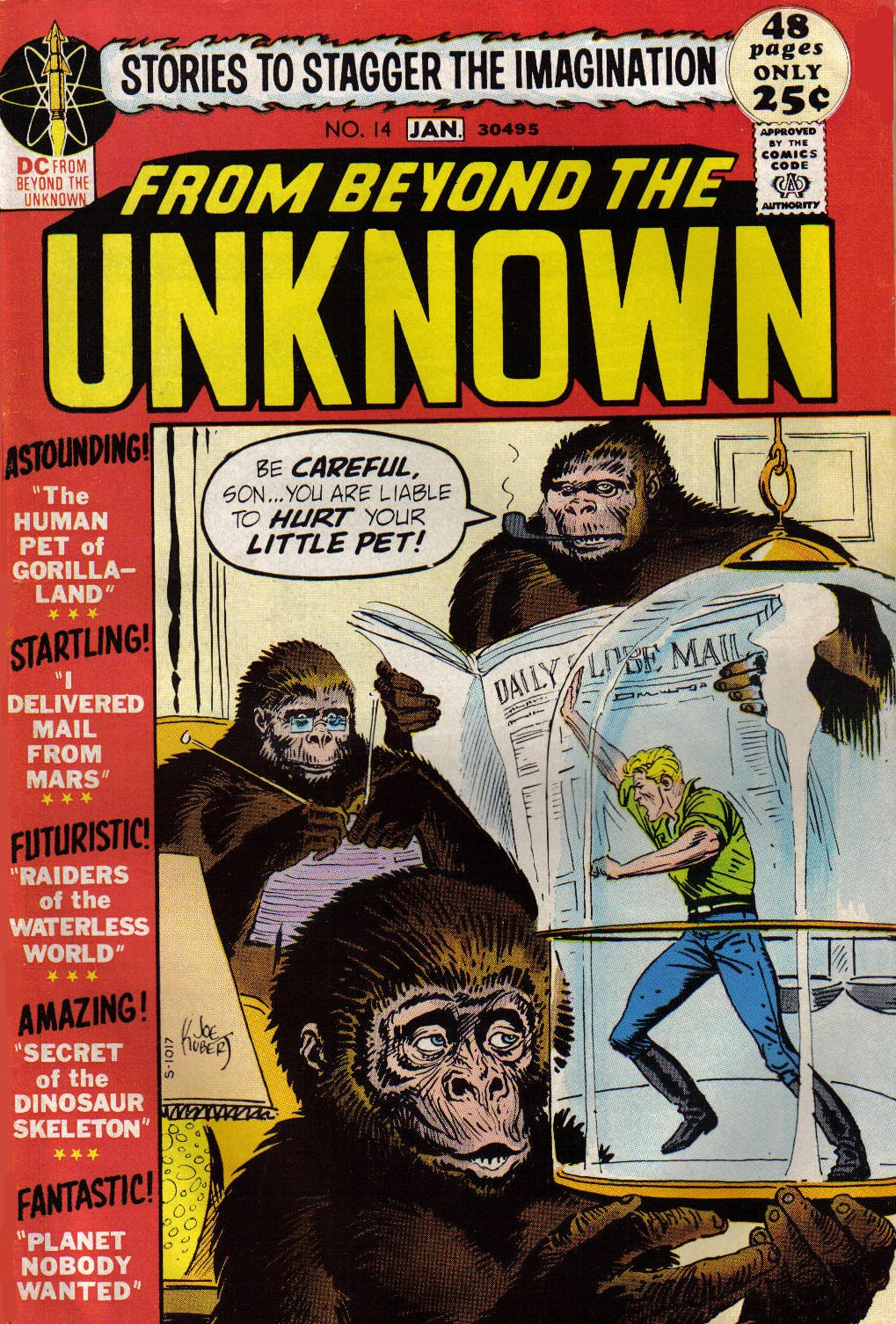 From Beyond the Unknown (1969) issue 14 - Page 1