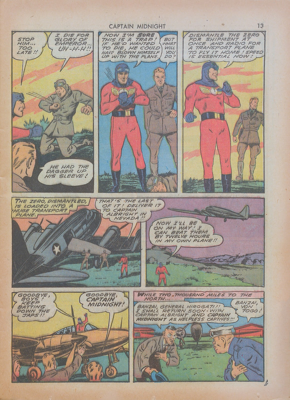 Captain Midnight (1942) issue 7 - Page 13