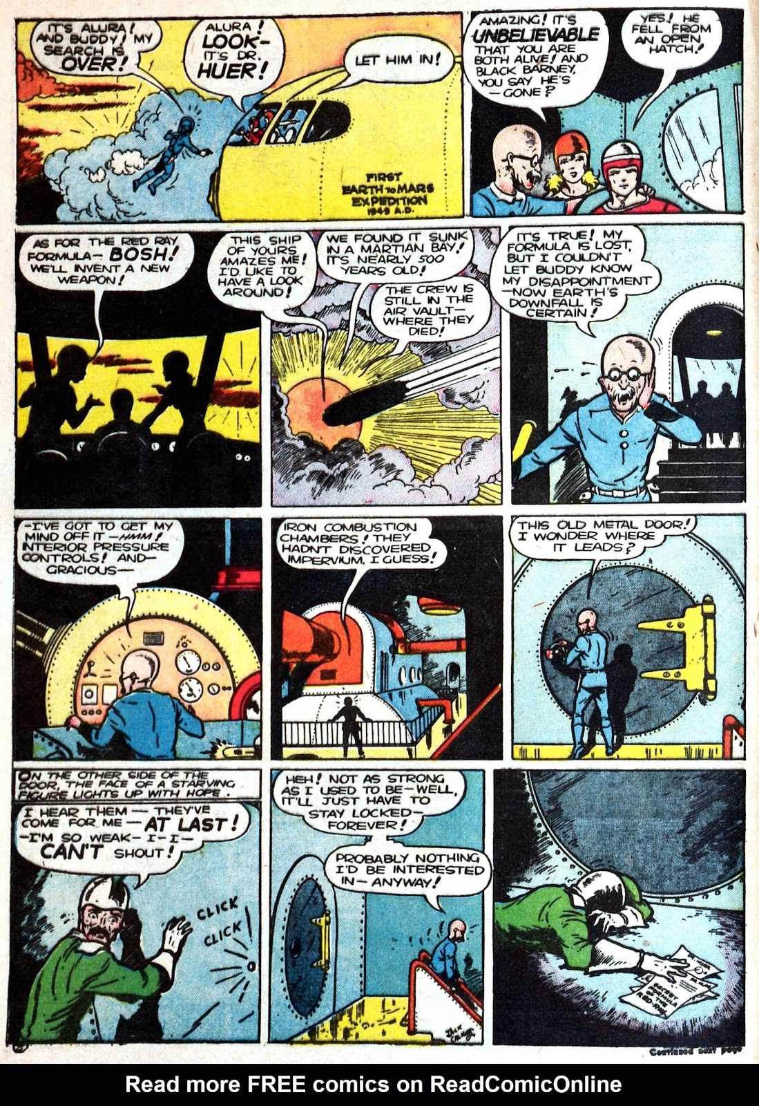 Read online Famous Funnies comic -  Issue #87 - 6