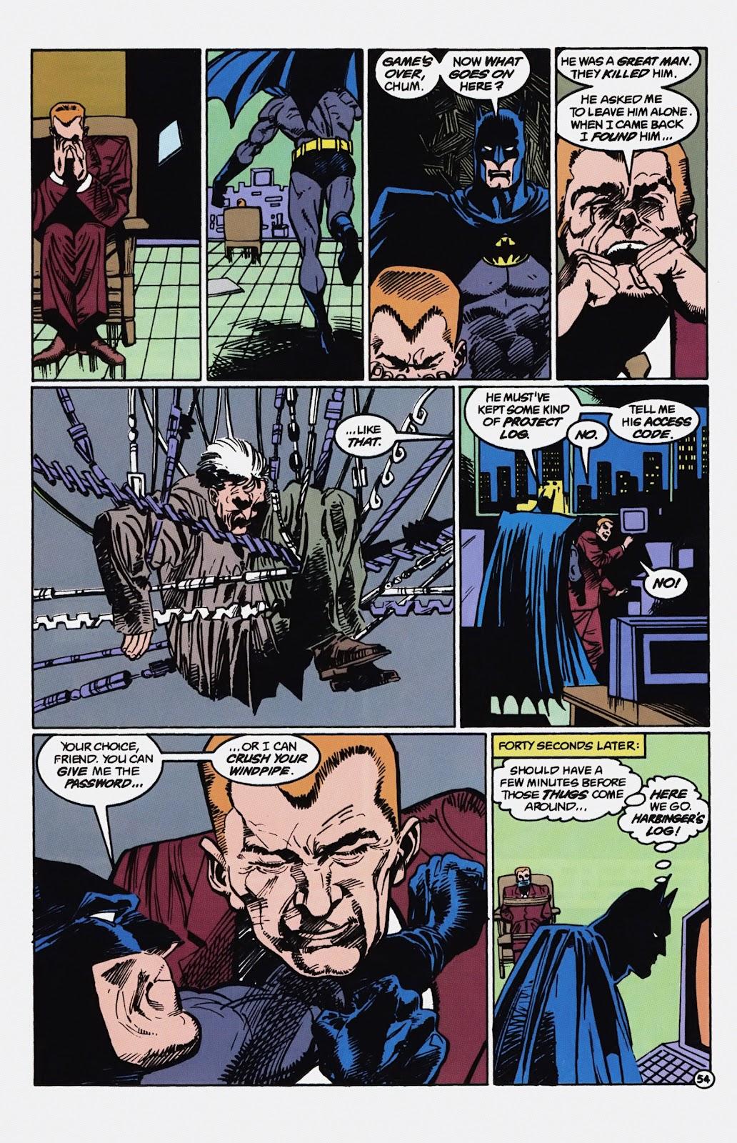 Read online Detective Comics (1937) comic -  Issue # _TPB Batman - Blind Justice (Part 1) - 59