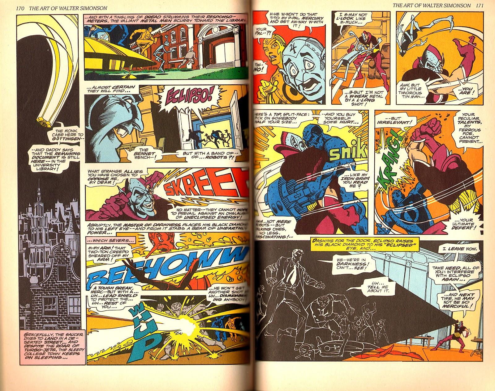 Read online The Art of Walter Simonson comic -  Issue # TPB - 87
