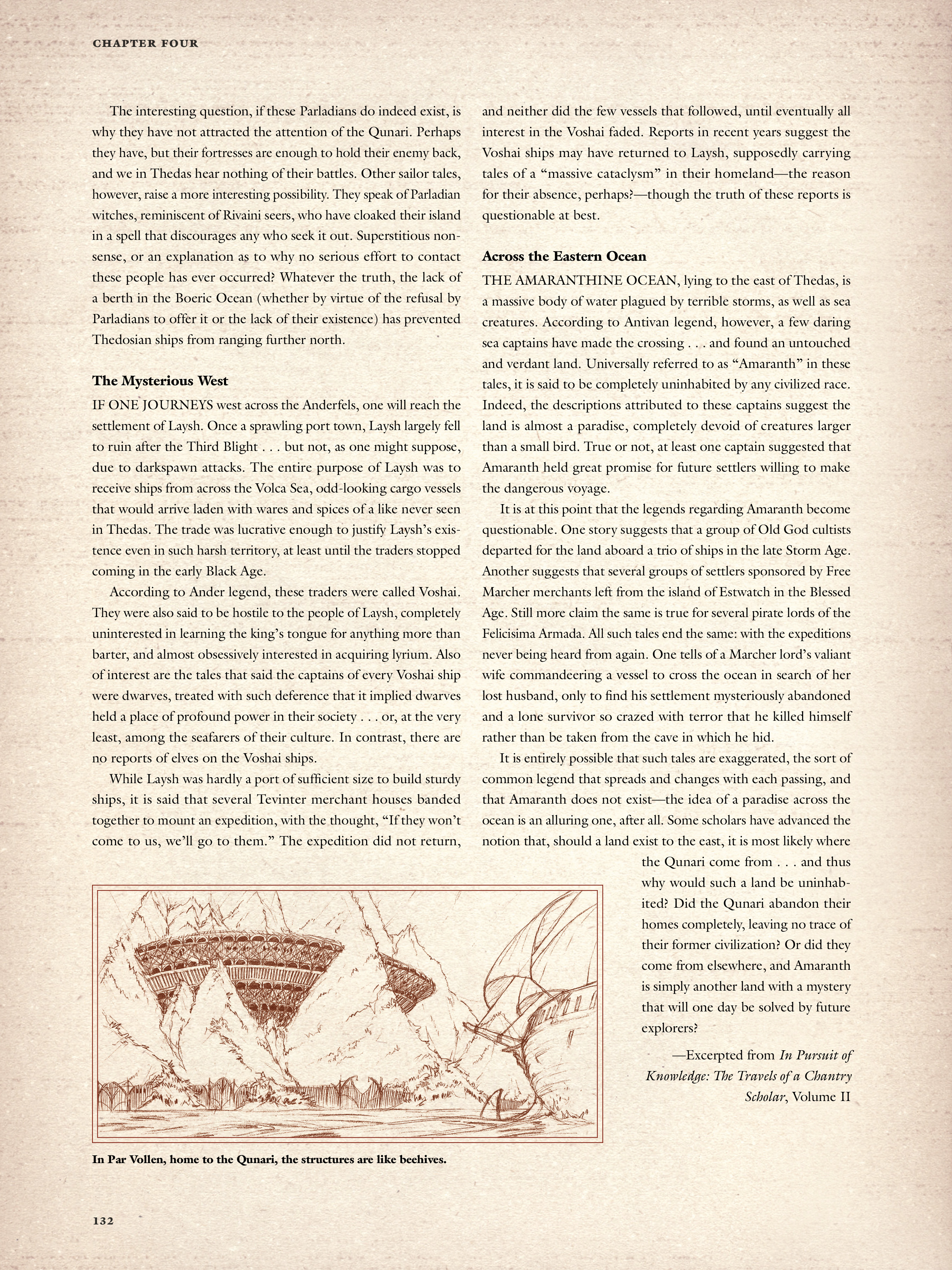 Read online Dragon Age: The World of Thedas comic -  Issue # TPB 2 - 128
