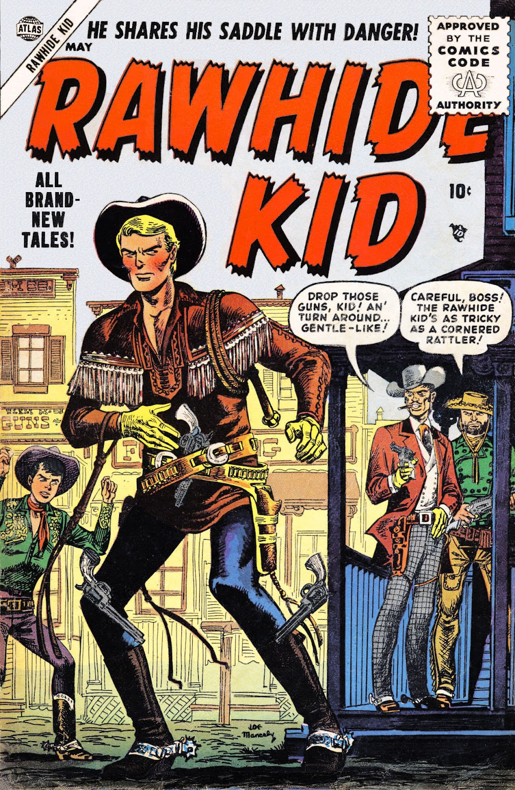 The Rawhide Kid (1955) issue 2 - Page 1