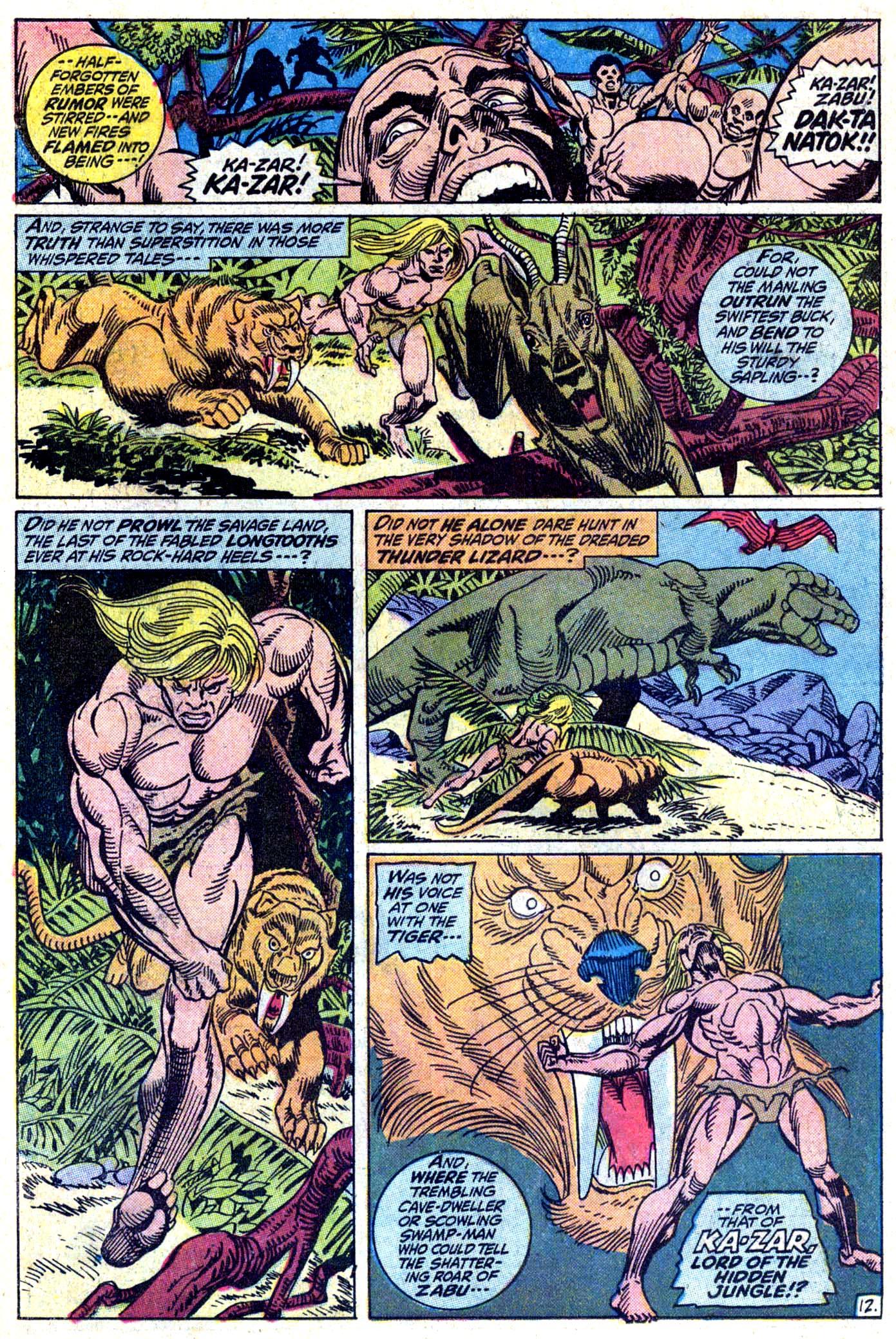 Read online Astonishing Tales (1970) comic -  Issue #11 - 13
