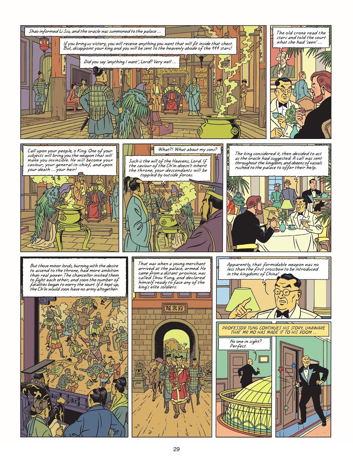 Read online Blake & Mortimer comic -  Issue #25 - 31