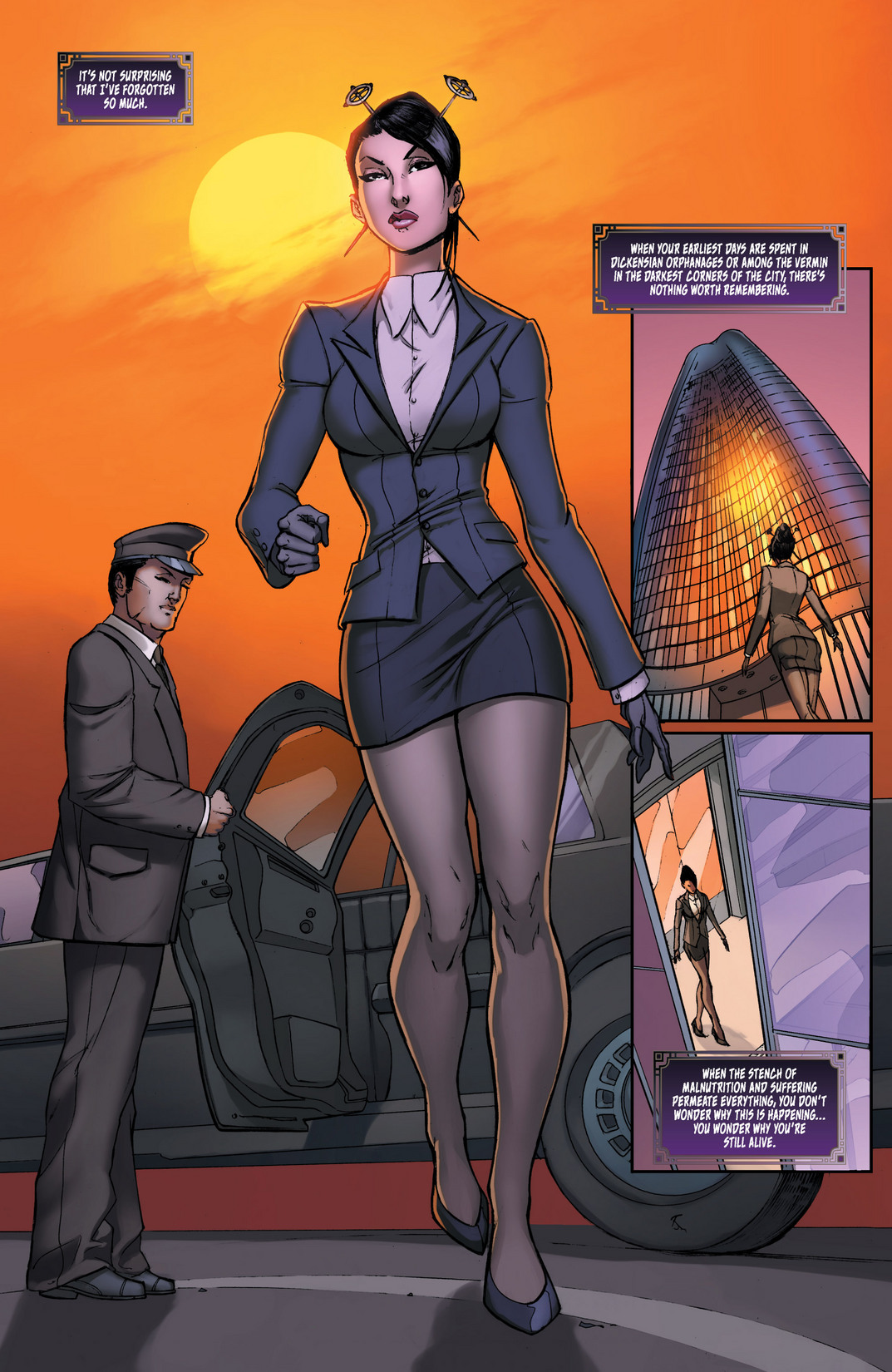 Read online All New Executive Assistant: Iris comic -  Issue #1 - 5