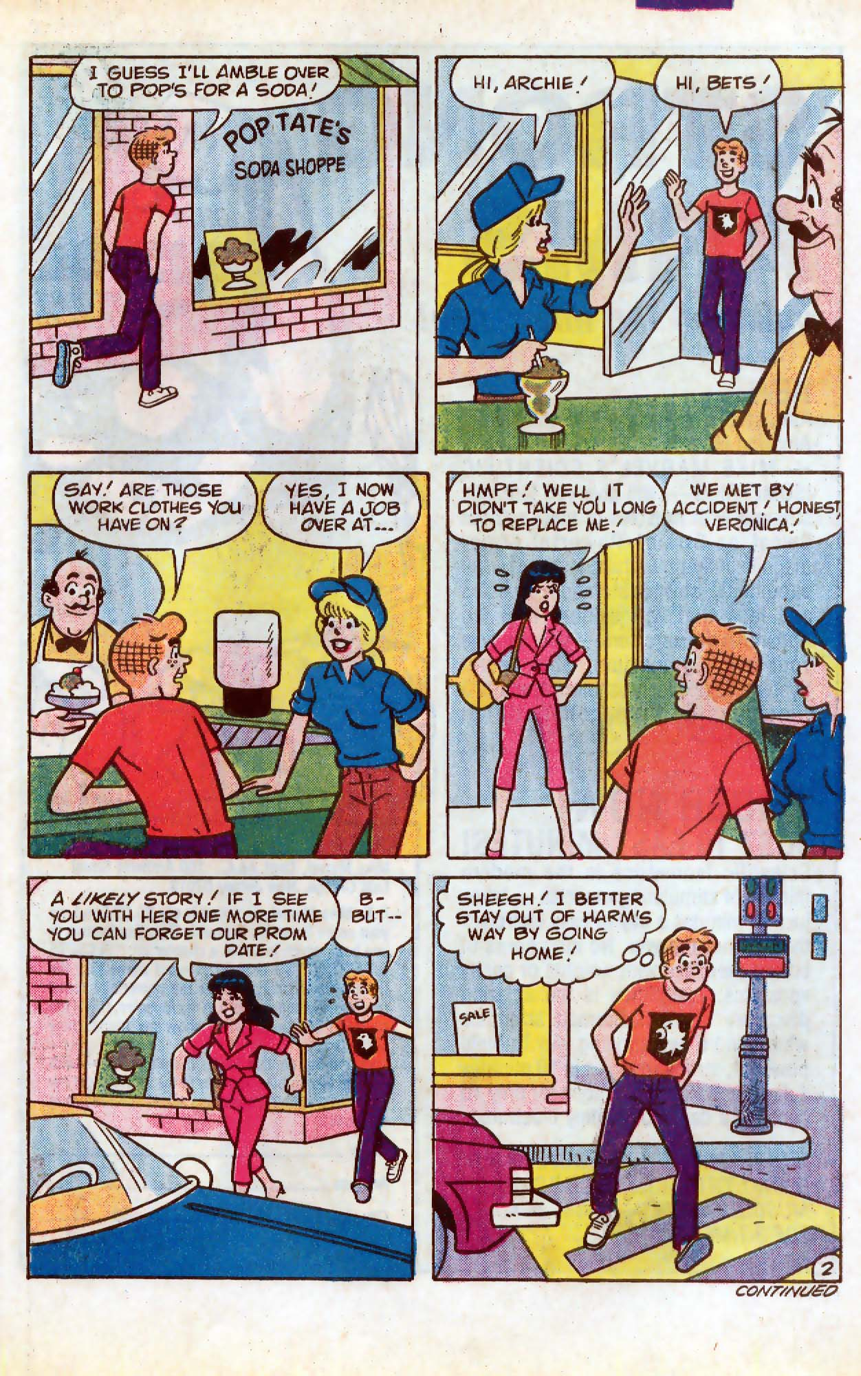 Read online Archie (1960) comic -  Issue #331 - 21