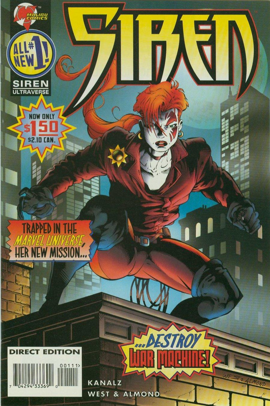 Read online Siren comic -  Issue #1 - 2