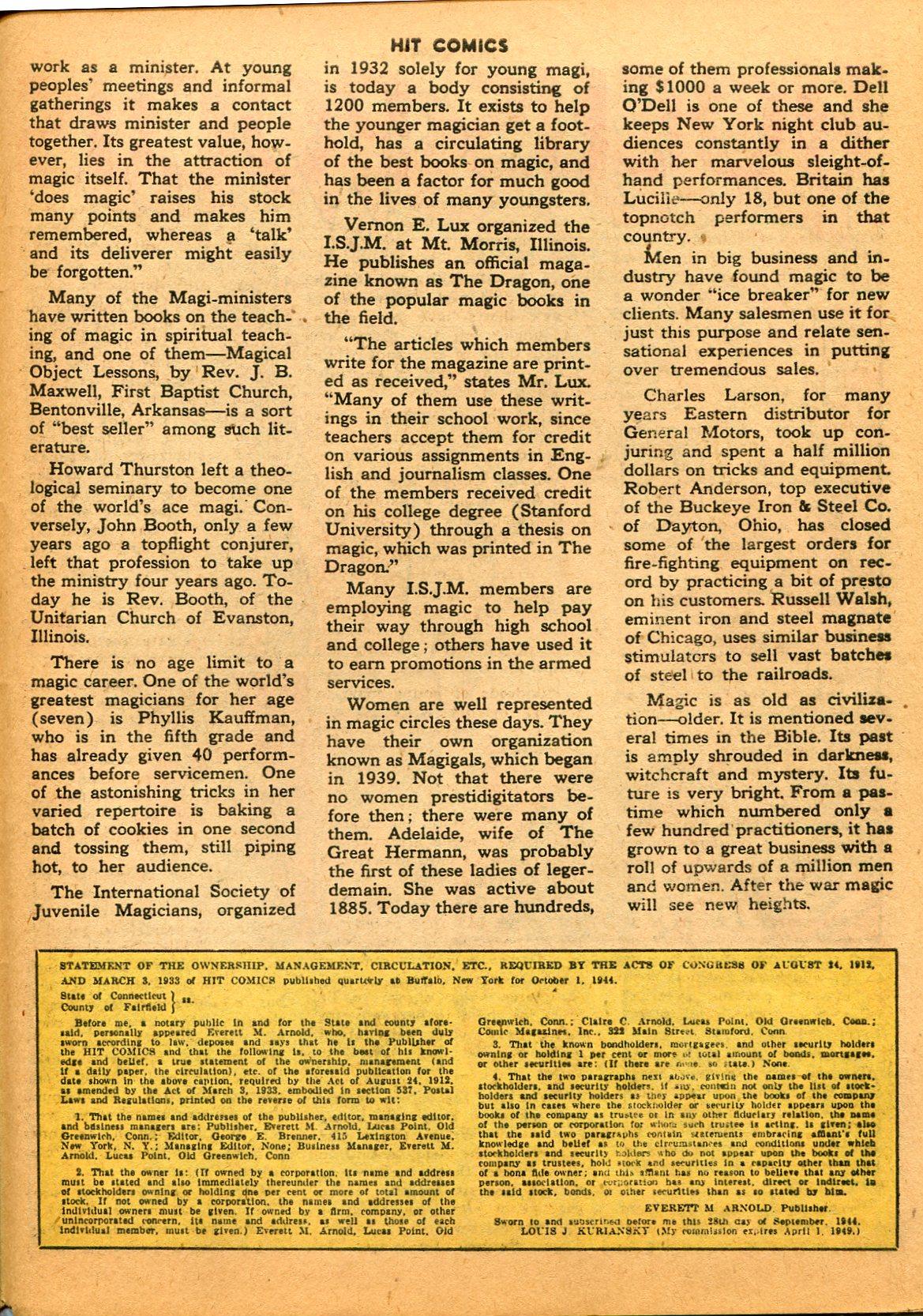 Read online Hit Comics comic -  Issue #35 - 47