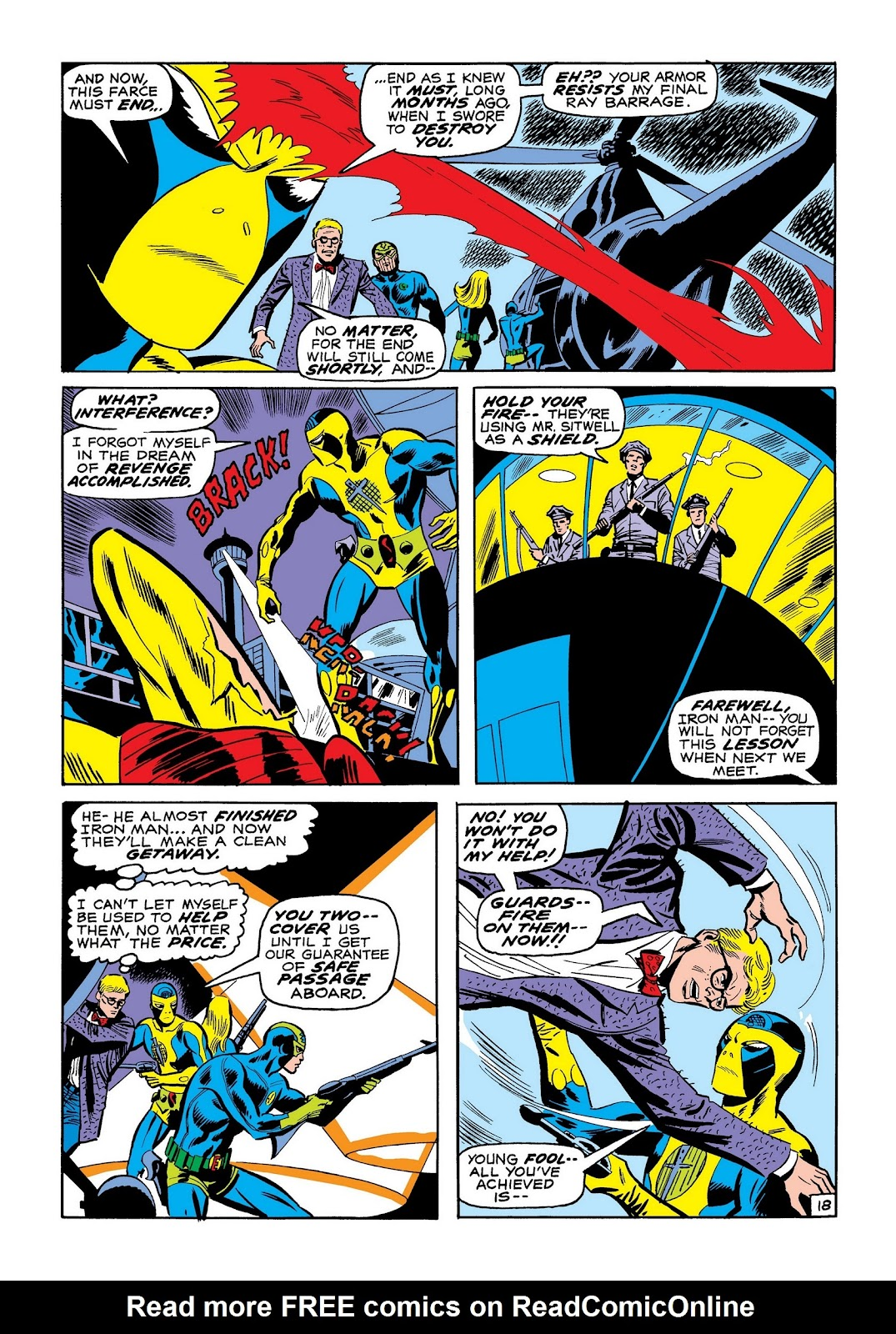 Read online Marvel Masterworks: The Invincible Iron Man comic -  Issue # TPB 7 (Part 2) - 86