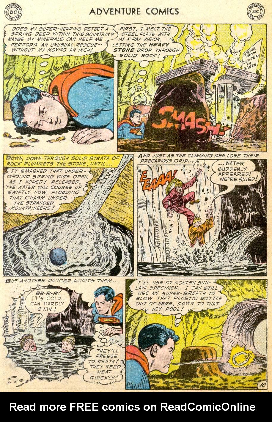 Read online Adventure Comics (1938) comic -  Issue #215 - 12