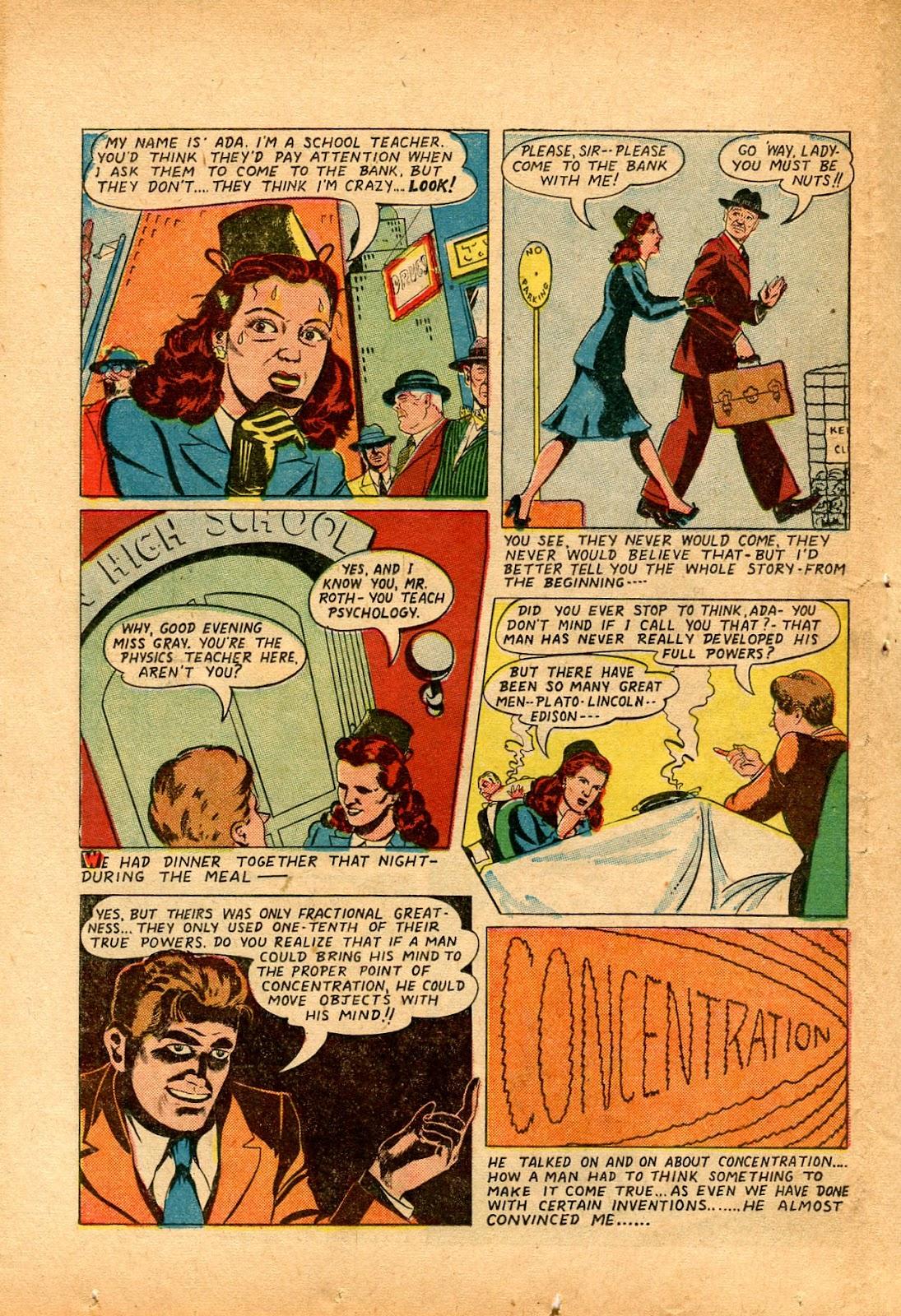 Read online Super-Magician Comics comic -  Issue #33 - 32