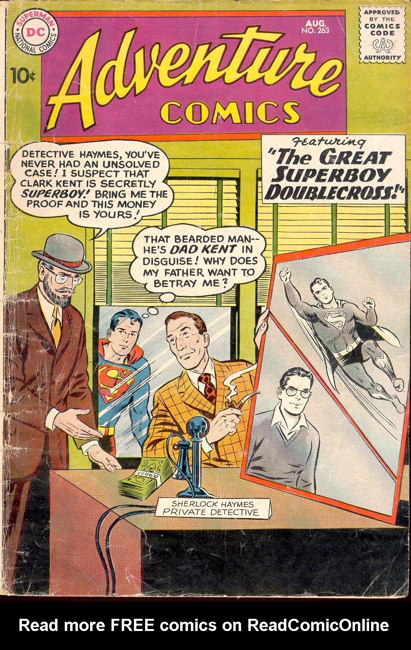 Read online Adventure Comics (1938) comic -  Issue #263 - 1
