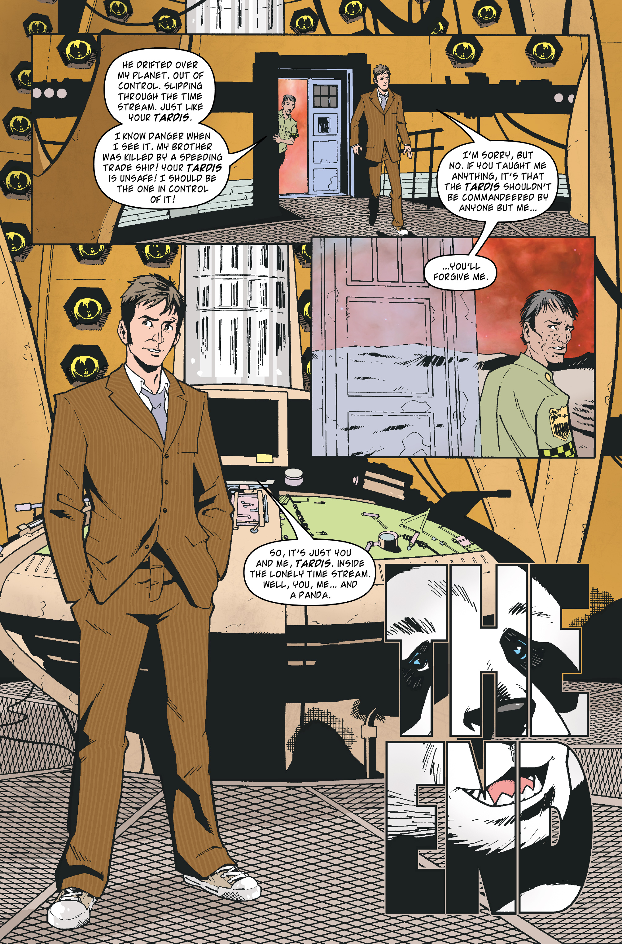 Read online Doctor Who: The Tenth Doctor Archives comic -  Issue #35 - 24
