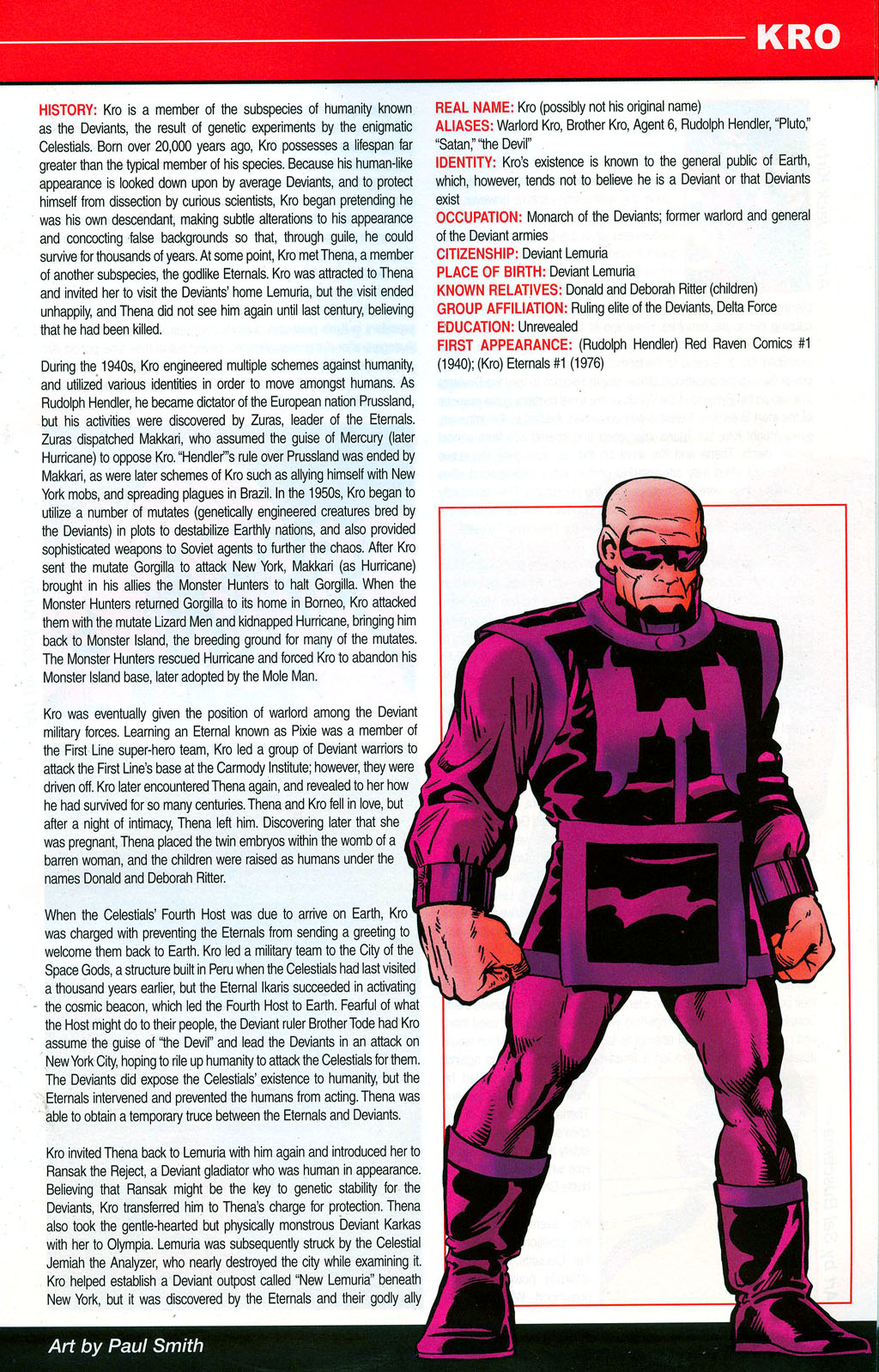 Read online All-New Official Handbook of the Marvel Universe A to Z: Update comic -  Issue #3 - 37
