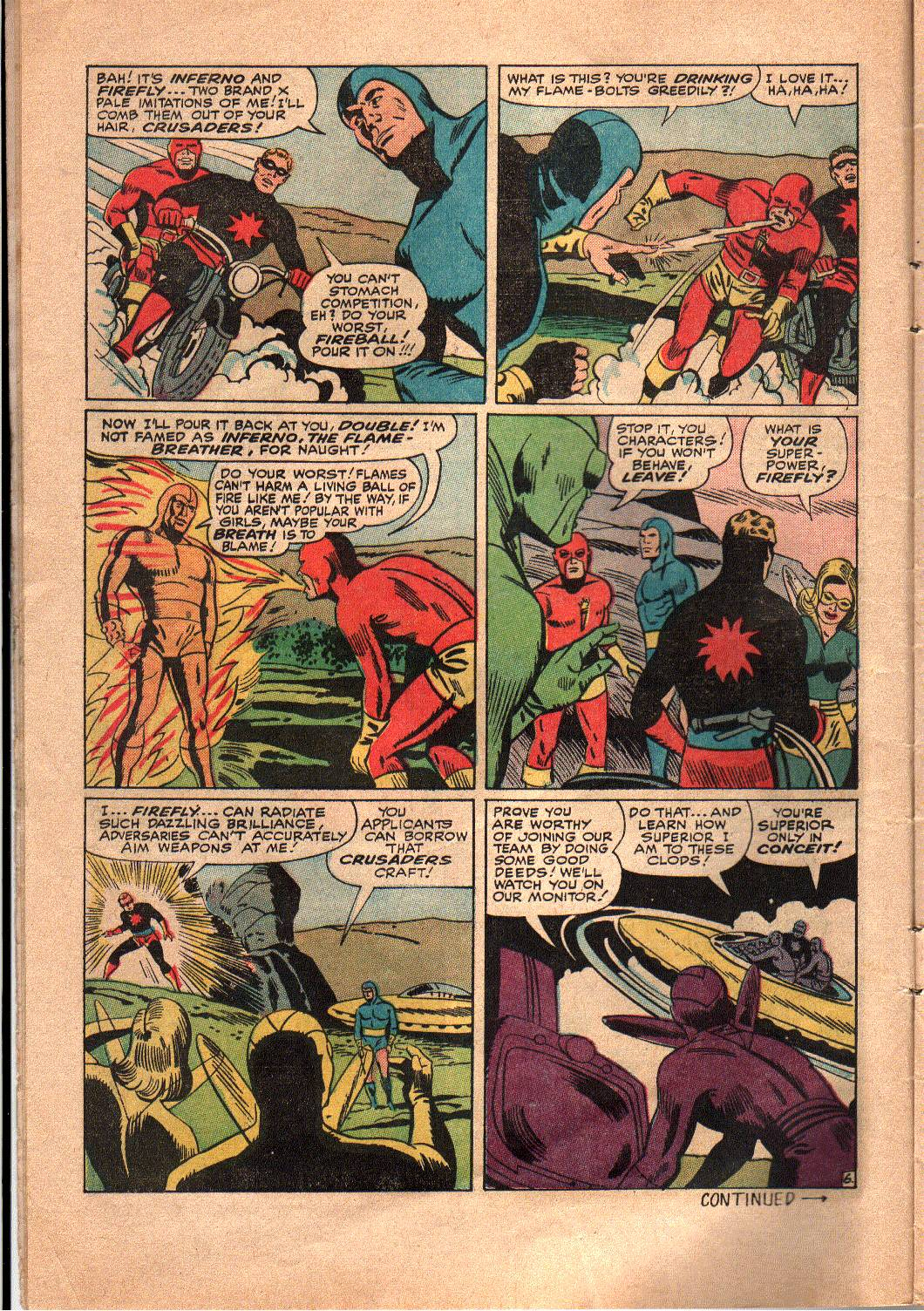 The Mighty Crusaders (1965) Issue #4 #4 - English 7