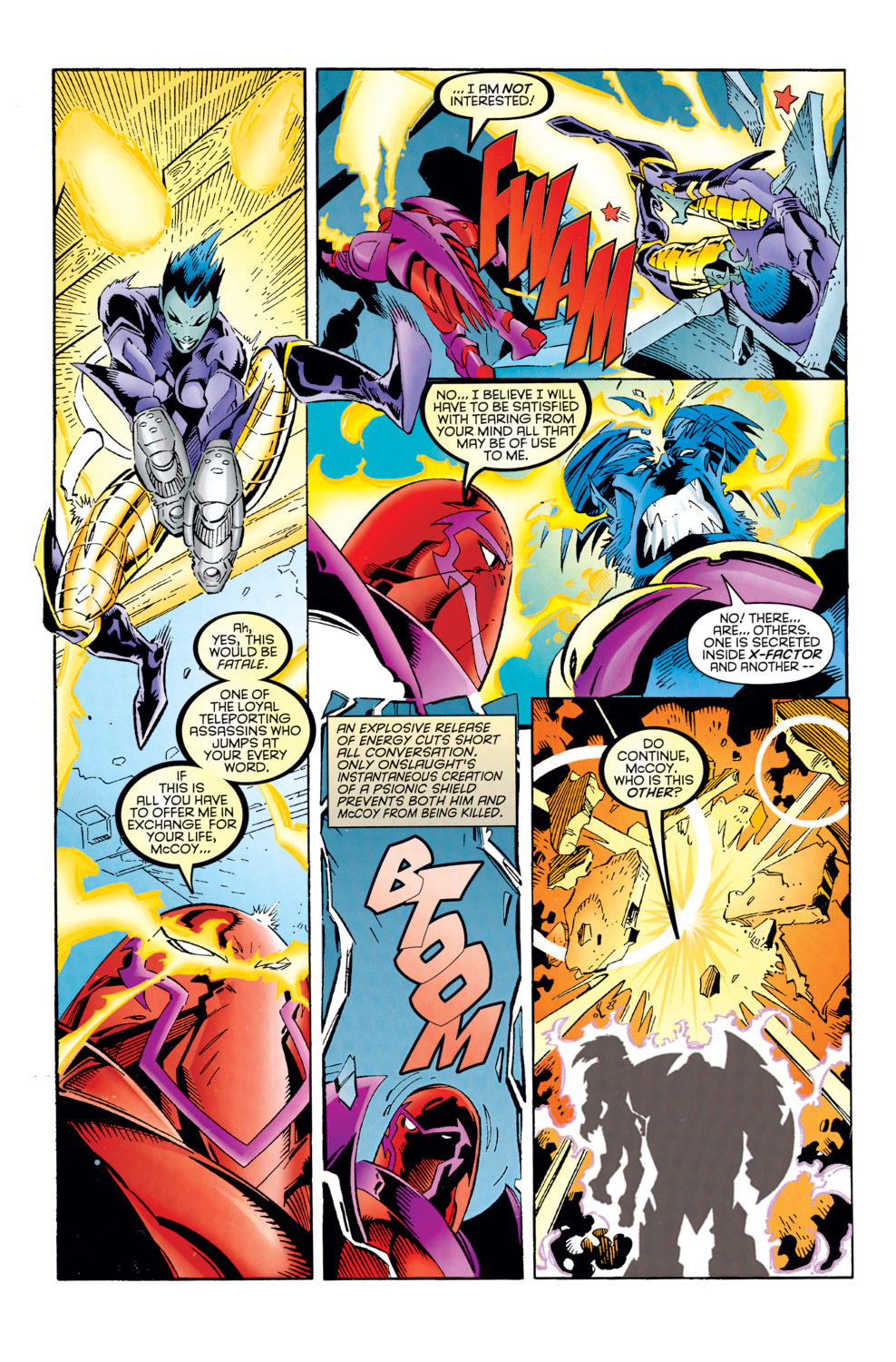 Read online X-Factor (1986) comic -  Issue #125 - 3