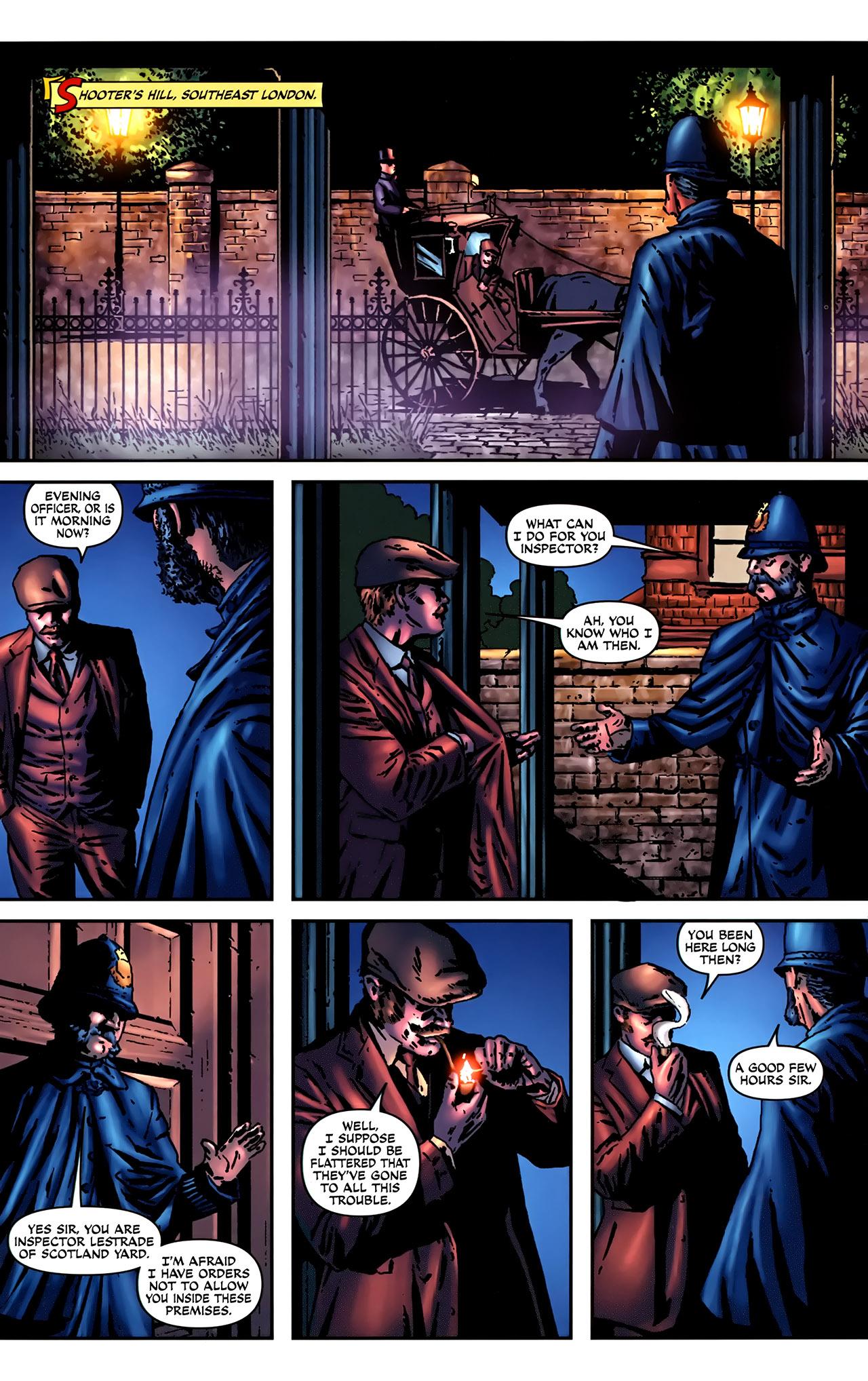 Read online Sherlock Holmes (2009) comic -  Issue #2 - 19