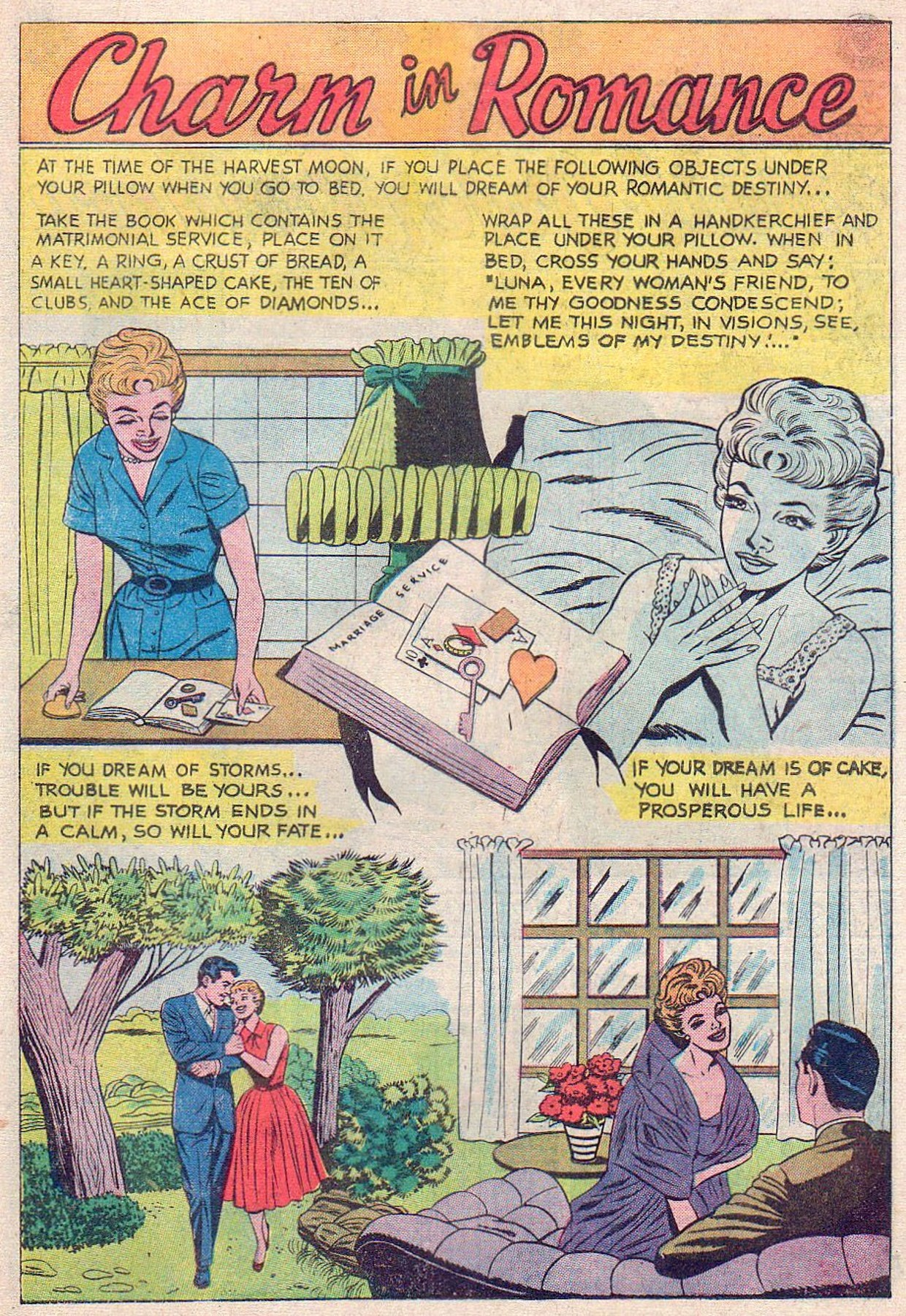 Read online Secret Hearts comic -  Issue #61 - 17