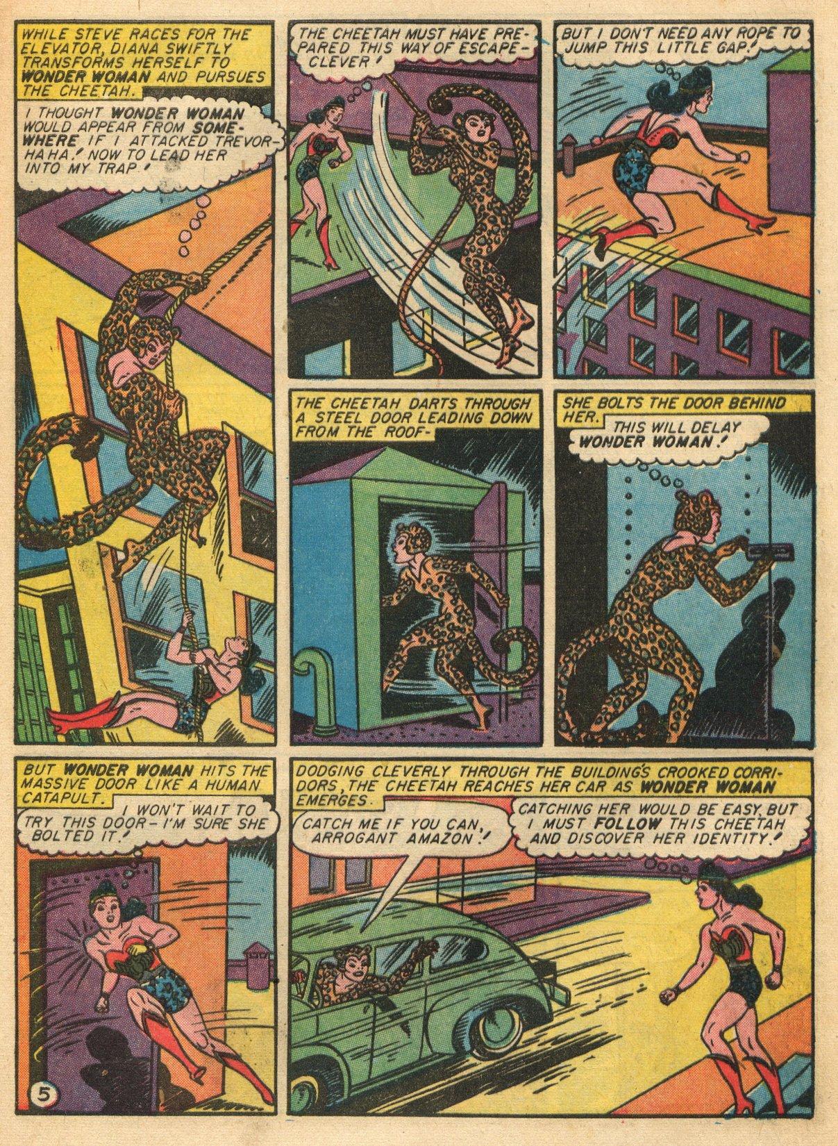Read online Sensation (Mystery) Comics comic -  Issue #22 - 7