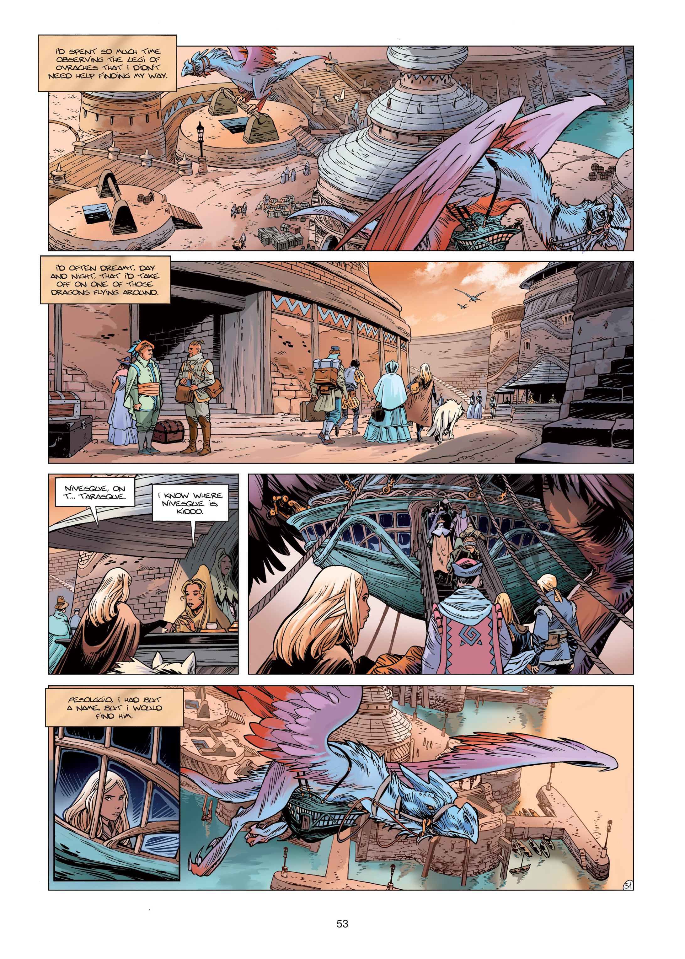 Read online Sangre Vol. 1: Sangre the Survivor comic -  Issue # Full - 53